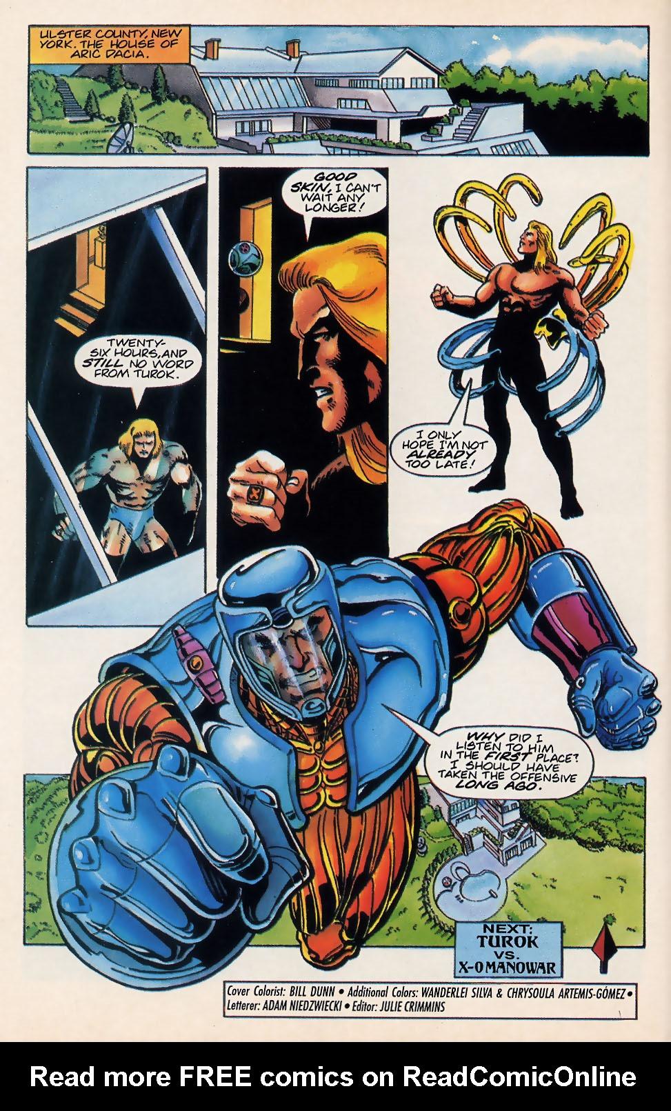 Read online Turok, Dinosaur Hunter (1993) comic -  Issue #18 - 22