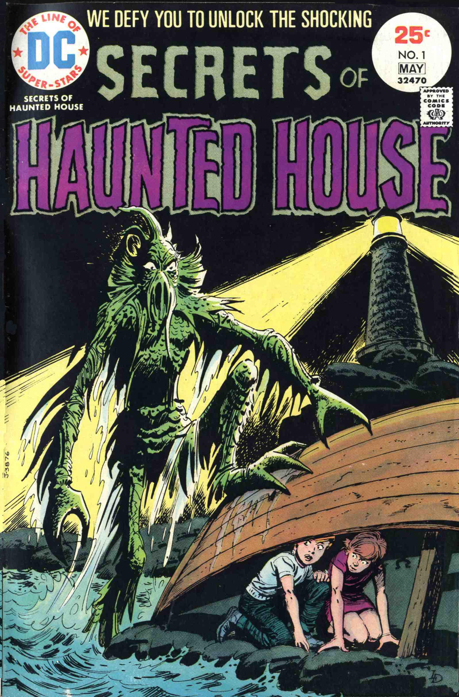 Read online Secrets of Haunted House comic -  Issue #1 - 1