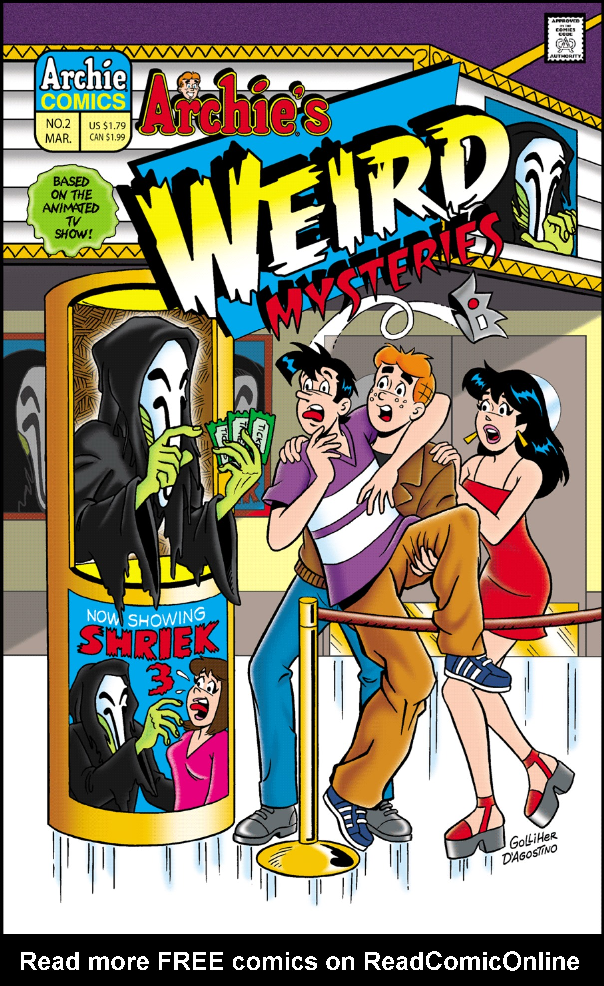 Read online Archie's Weird Mysteries comic -  Issue #2 - 1