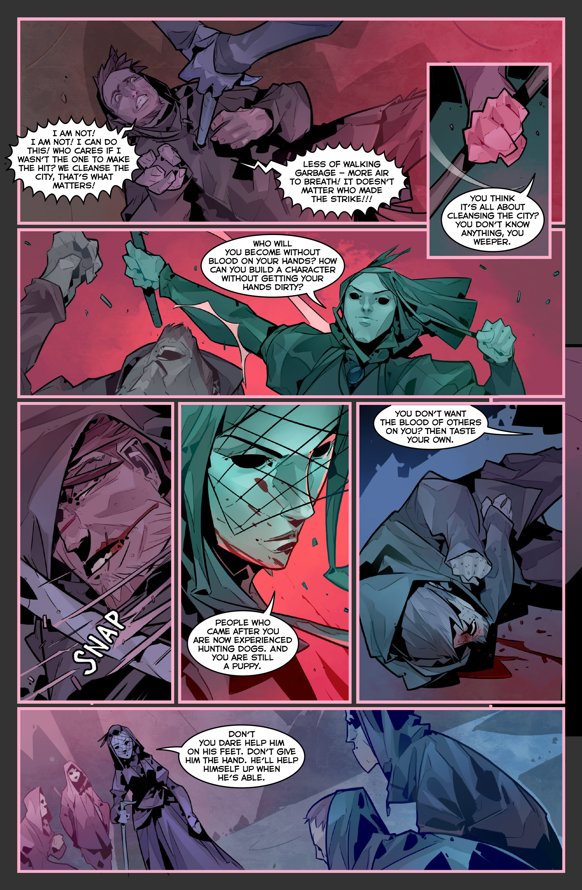 Read online Igor Grom comic -  Issue #4 - 13