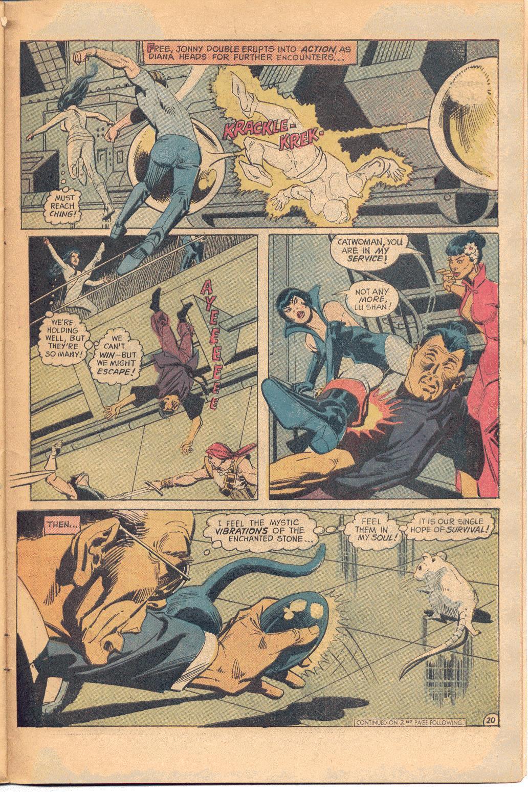 Read online Wonder Woman (1942) comic -  Issue #202 - 21