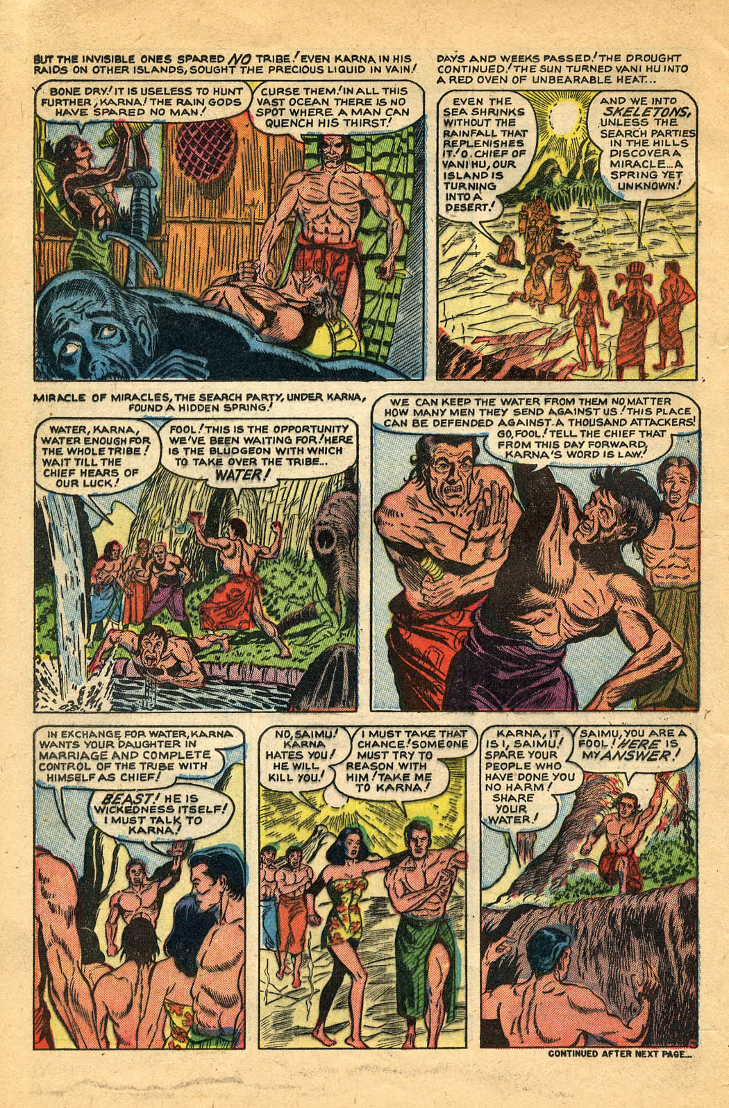 Read online Adventures into Weird Worlds comic -  Issue #29 - 24