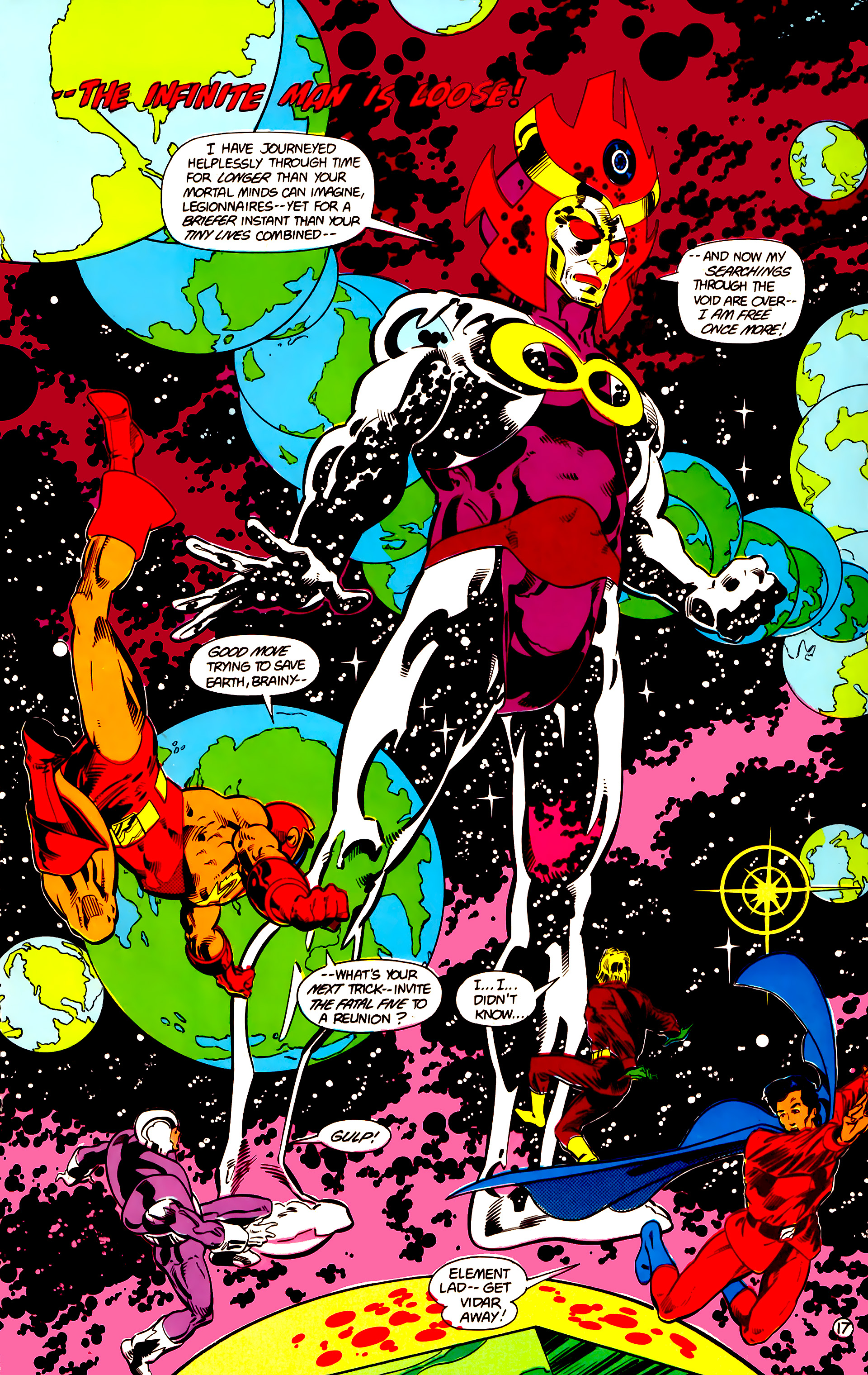 Legion of Super-Heroes (1984) 18 Page 17