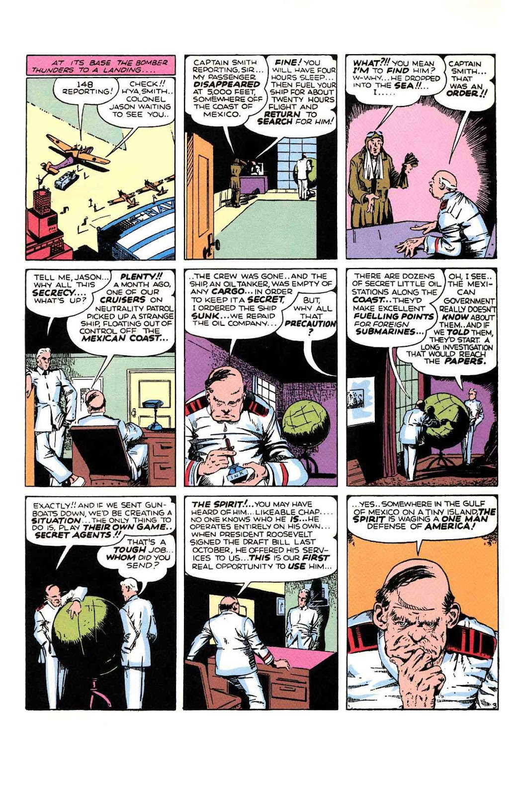 Read online Will Eisner's The Spirit Archives comic -  Issue # TPB 1 (Part 3) - 14