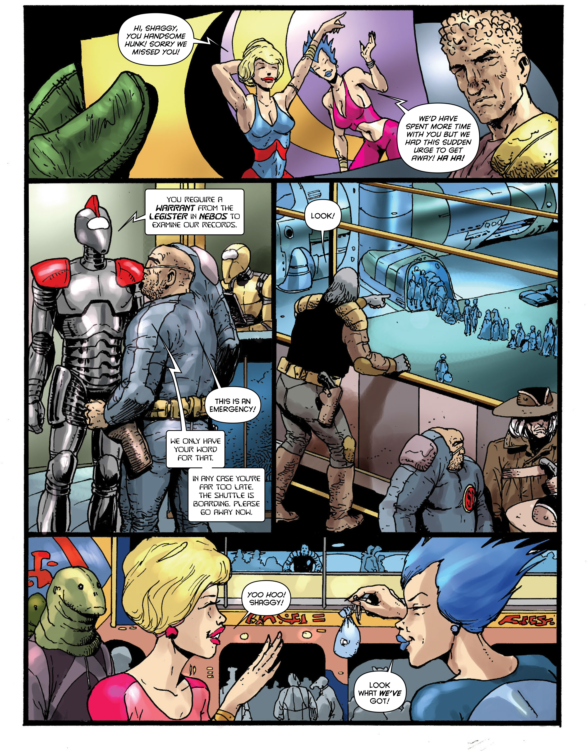 Read online 2000 AD comic -  Issue #1967 - 29