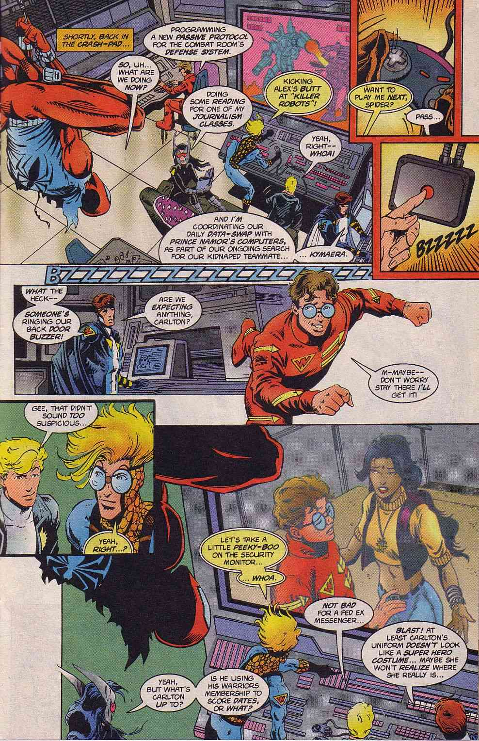 The New Warriors Issue #63 #67 - English 10
