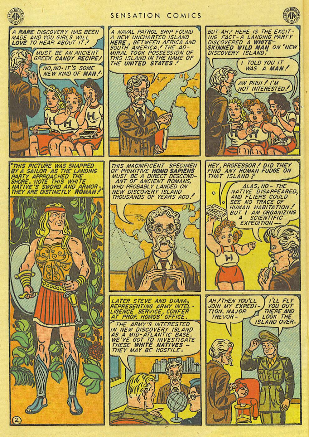 Read online Sensation (Mystery) Comics comic -  Issue #39 - 4