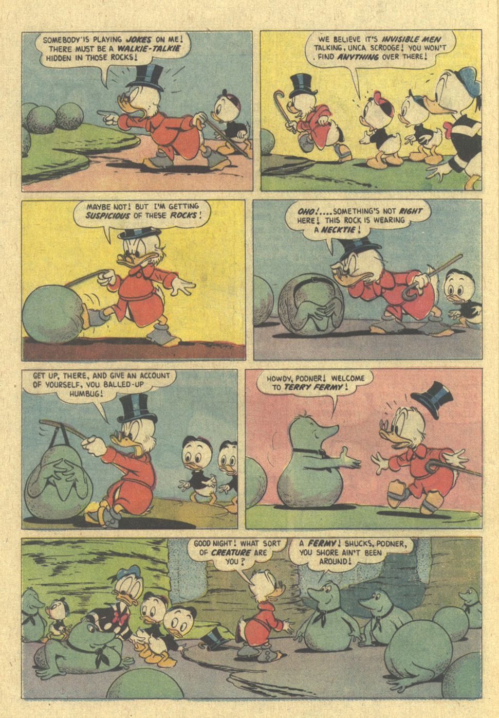 Read online Uncle Scrooge (1953) comic -  Issue #109 - 12