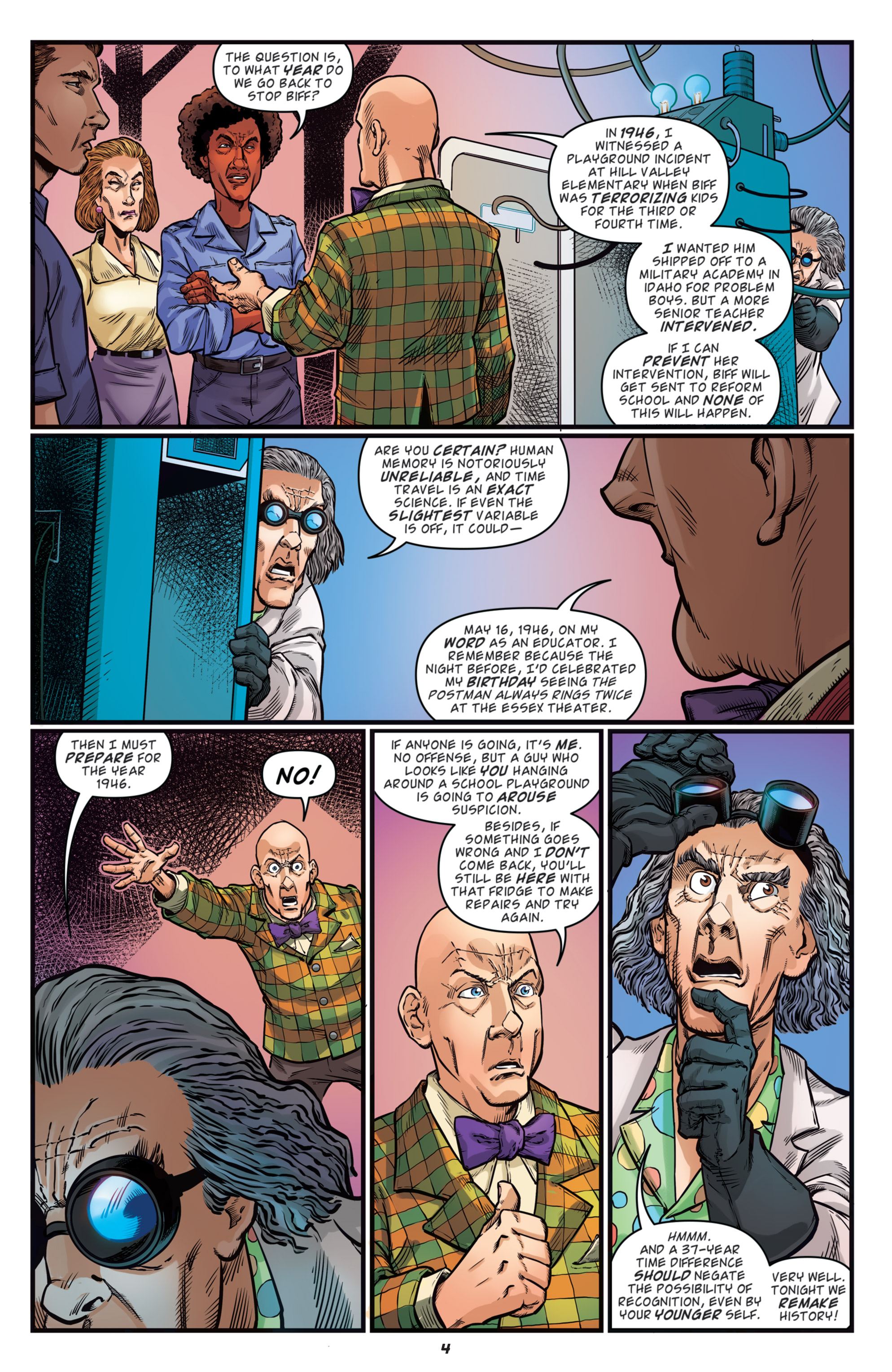 Read online Back to the Future: Biff to the Future comic -  Issue #5 - 6