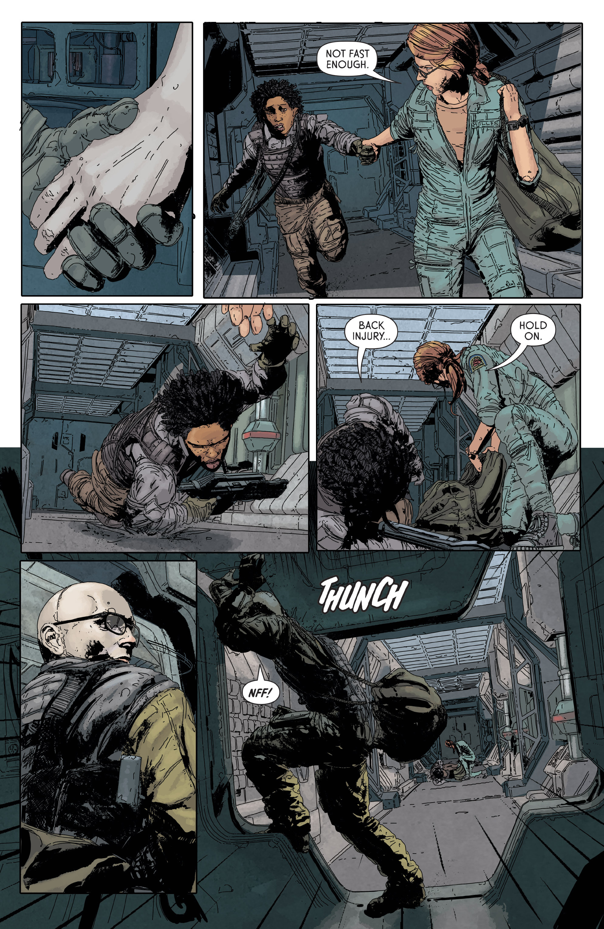 Read online Aliens: Defiance comic -  Issue #6 - 10