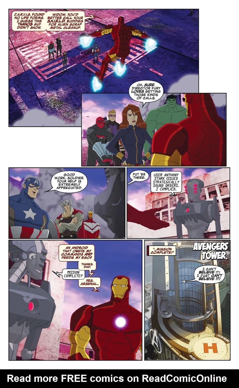 Read online Marvel Universe Avengers Assemble Season 2 comic -  Issue #1 - 20