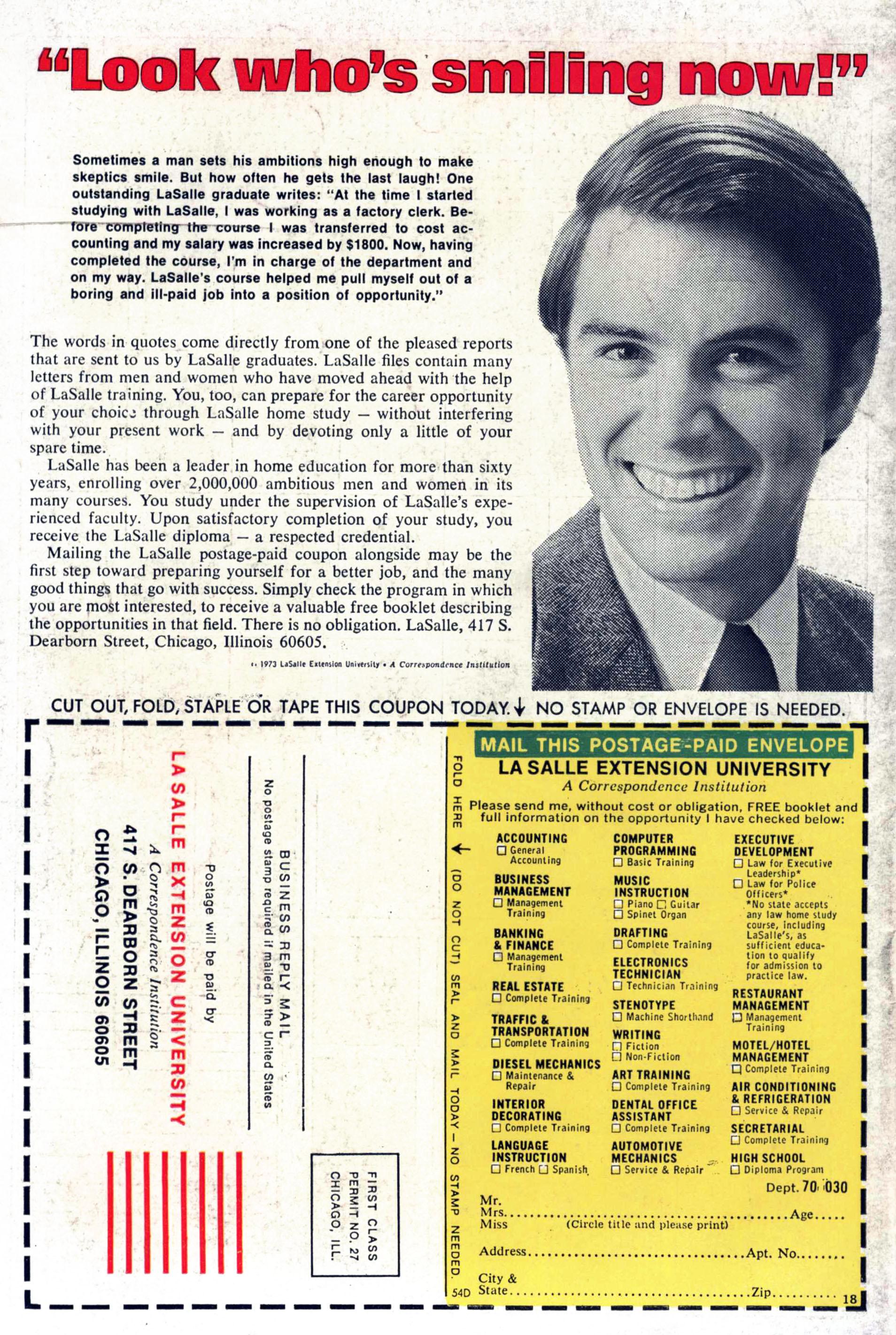 Read online Amazing Adventures (1970) comic -  Issue #33 - 35