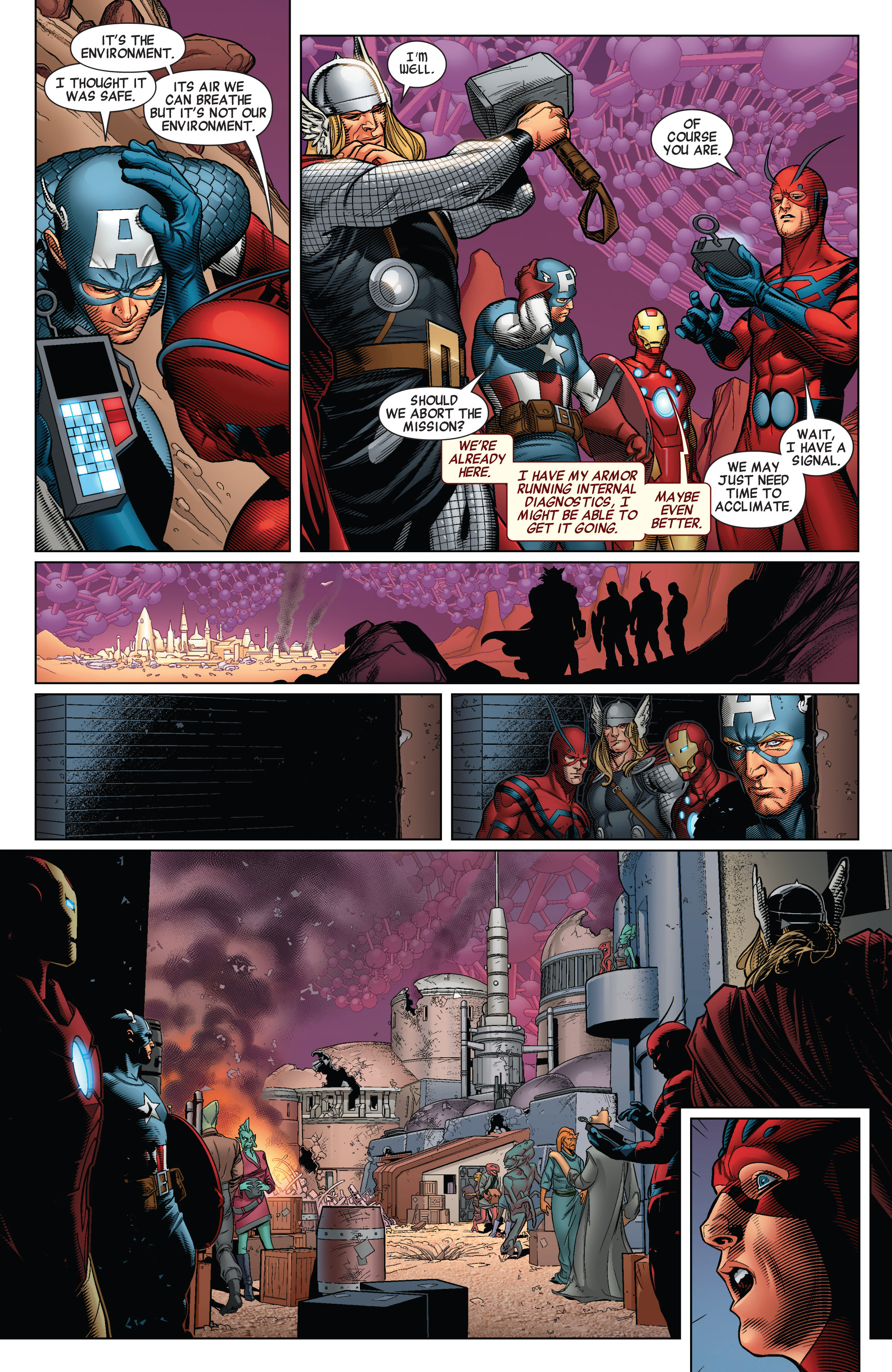 Read online Avengers (2010) comic -  Issue #32 - 16
