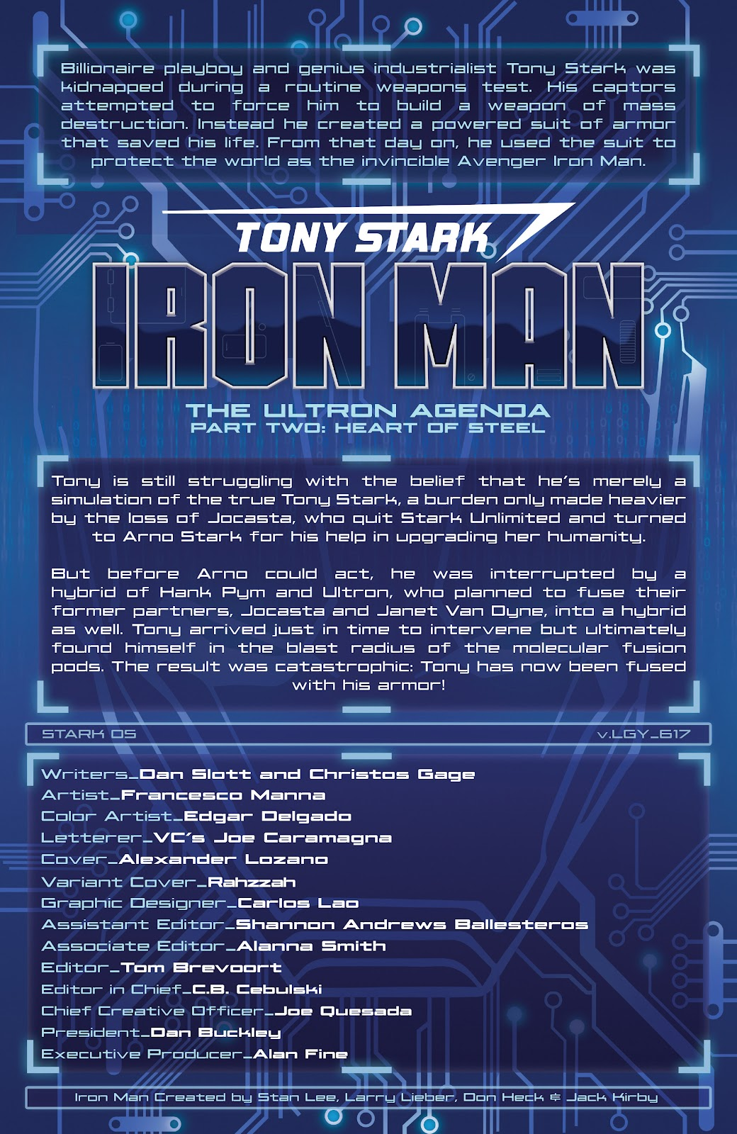 Read online Tony Stark: Iron Man comic -  Issue #17 - 2