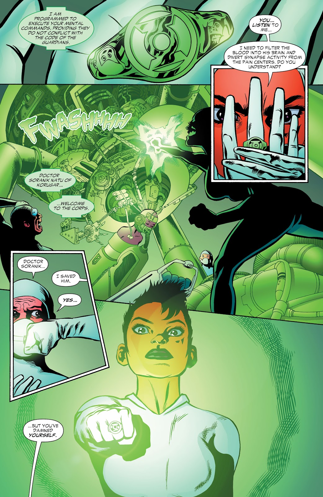 Read online Green Lantern by Geoff Johns comic -  Issue # TPB 1 (Part 2) - 87