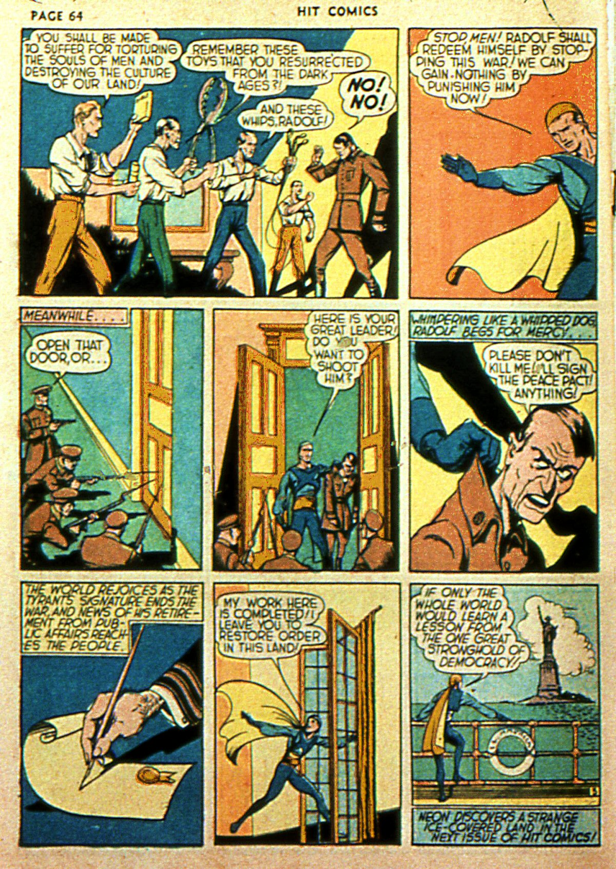 Read online Hit Comics comic -  Issue #2 - 66