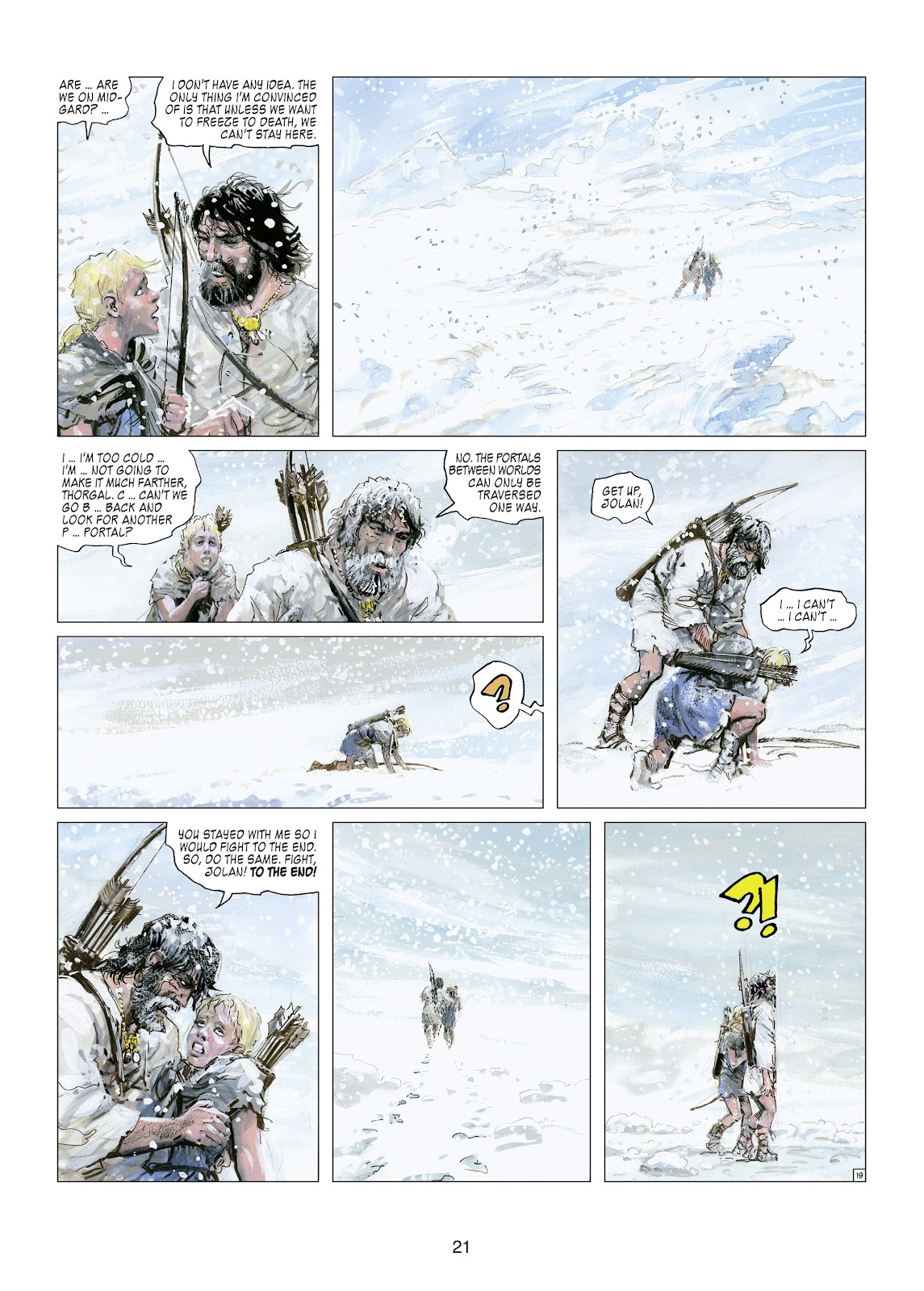 Read online Thorgal comic -  Issue #21 - 23