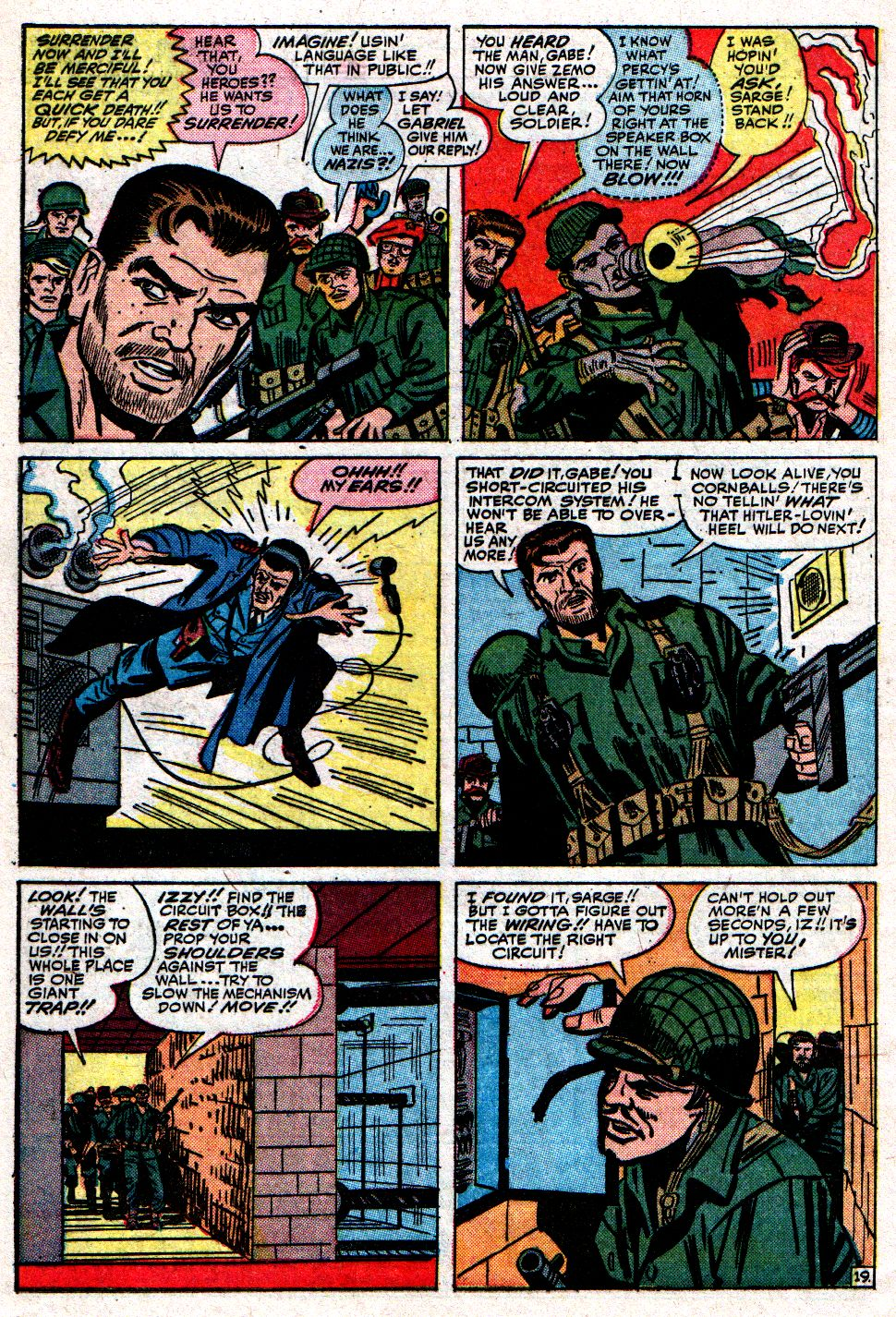 Read online Sgt. Fury comic -  Issue #8 - 28