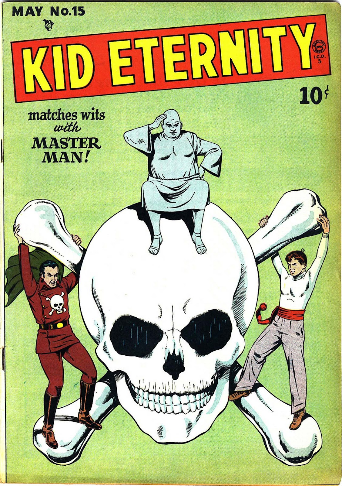 Kid Eternity (1946) issue 15 - Page 1