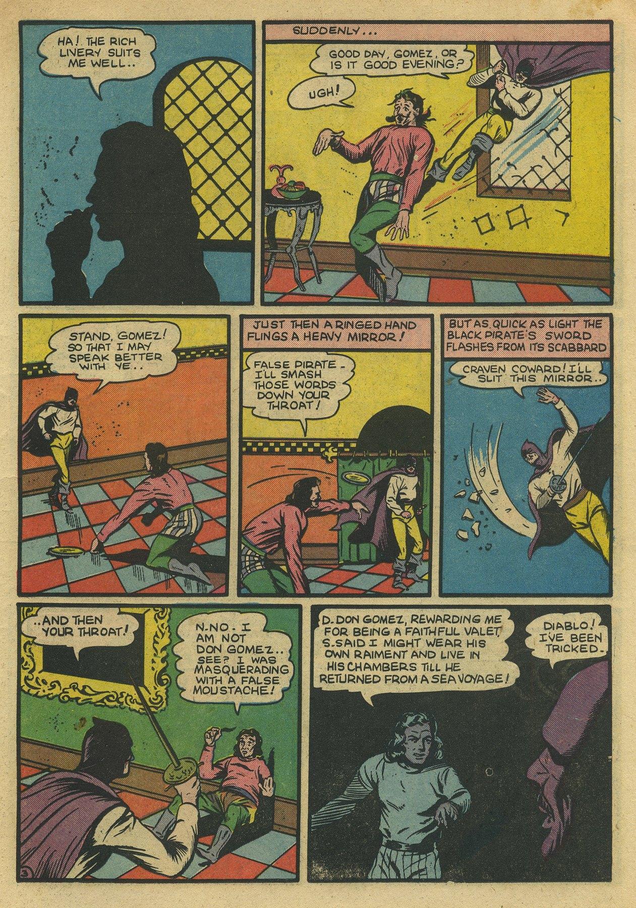 Read online Sensation (Mystery) Comics comic -  Issue #10 - 19