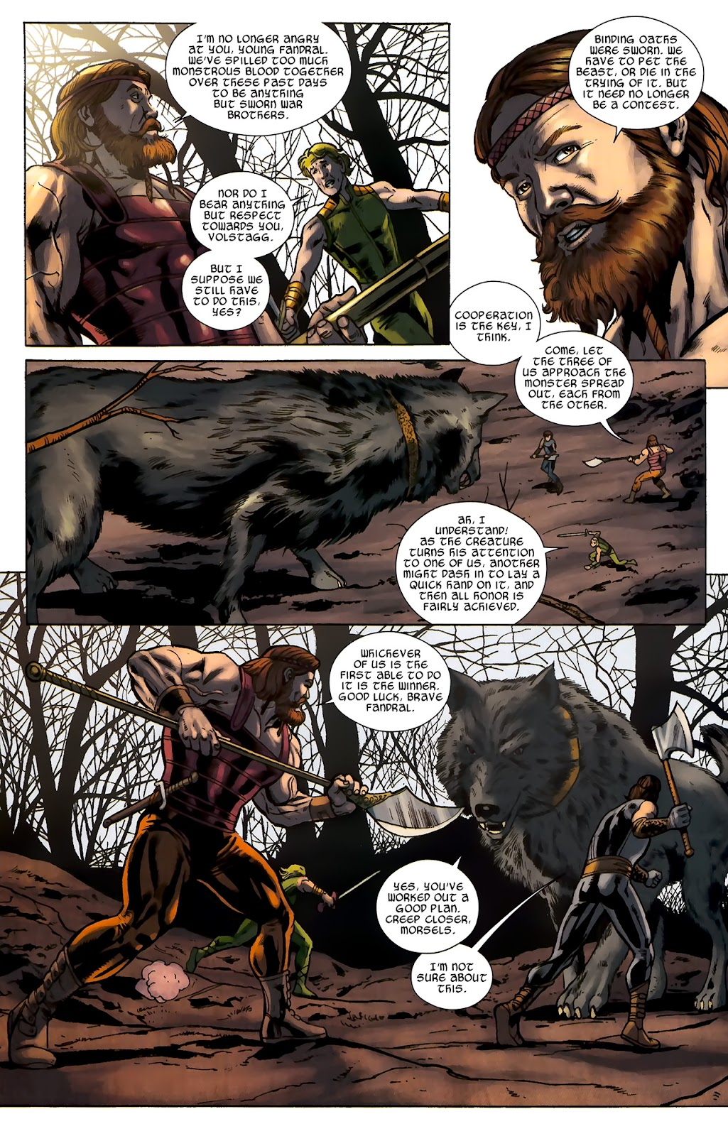 Warriors Three Issue #2 #2 - English 13