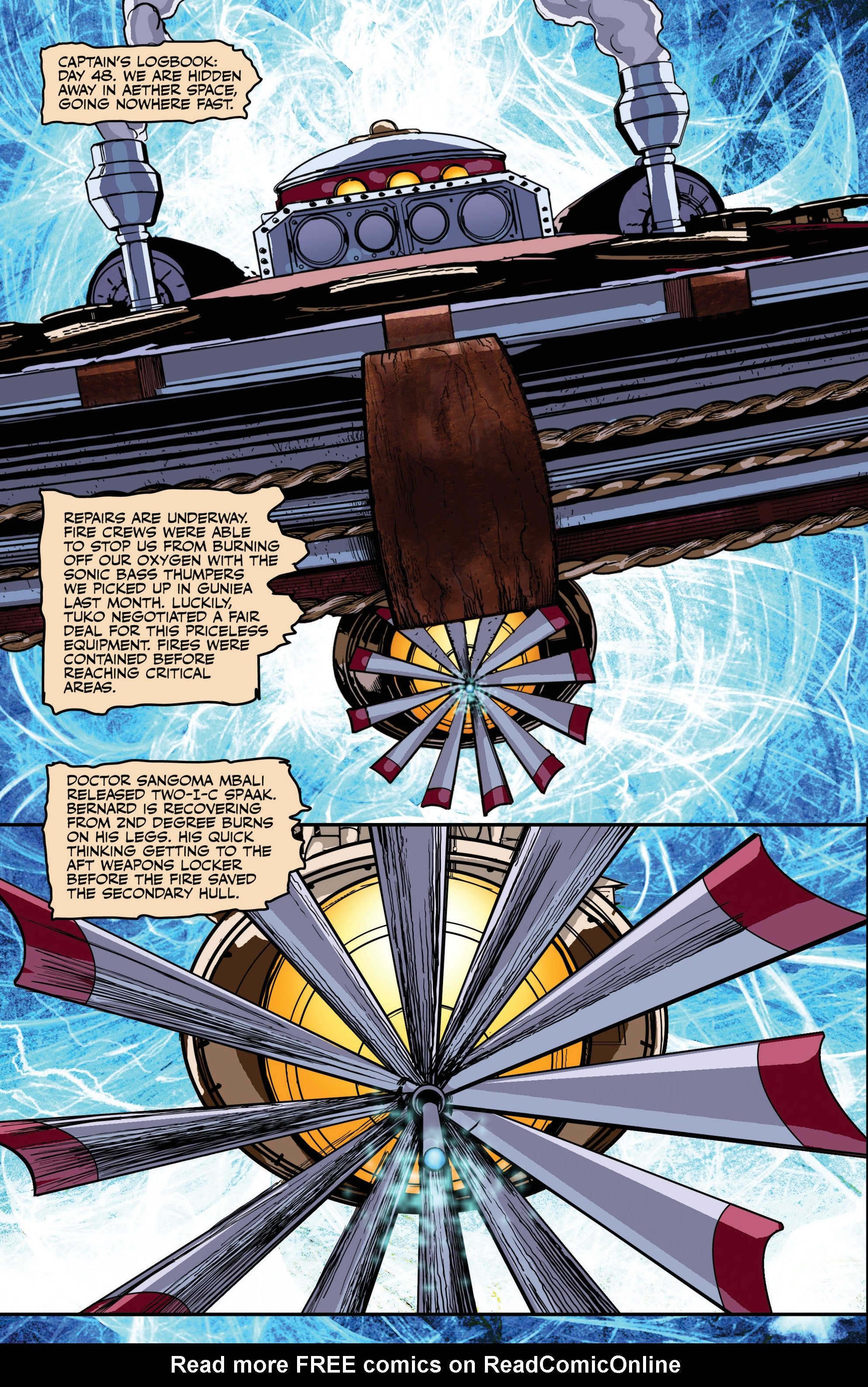 Read online Airship Enterprise: The Infernal Machine comic -  Issue #3 - 6