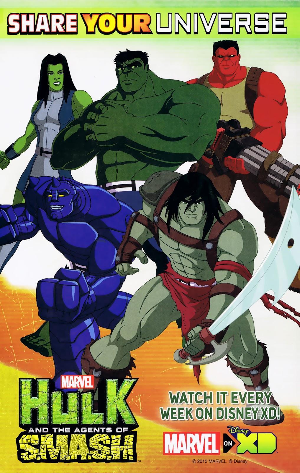 Read online Marvel Universe Avengers Assemble Season 2 comic -  Issue #8 - 31