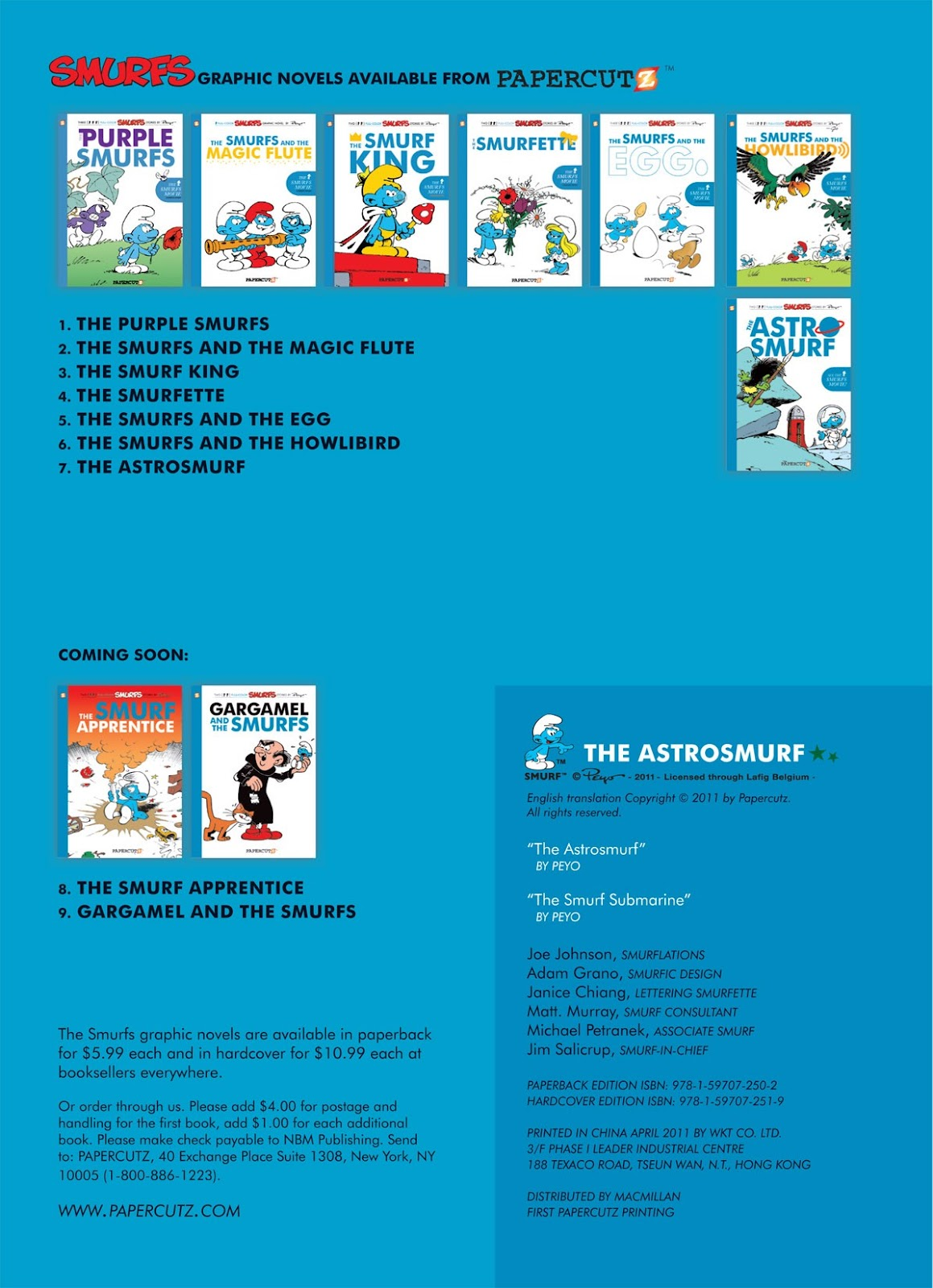Read online The Smurfs comic -  Issue #7 - 4