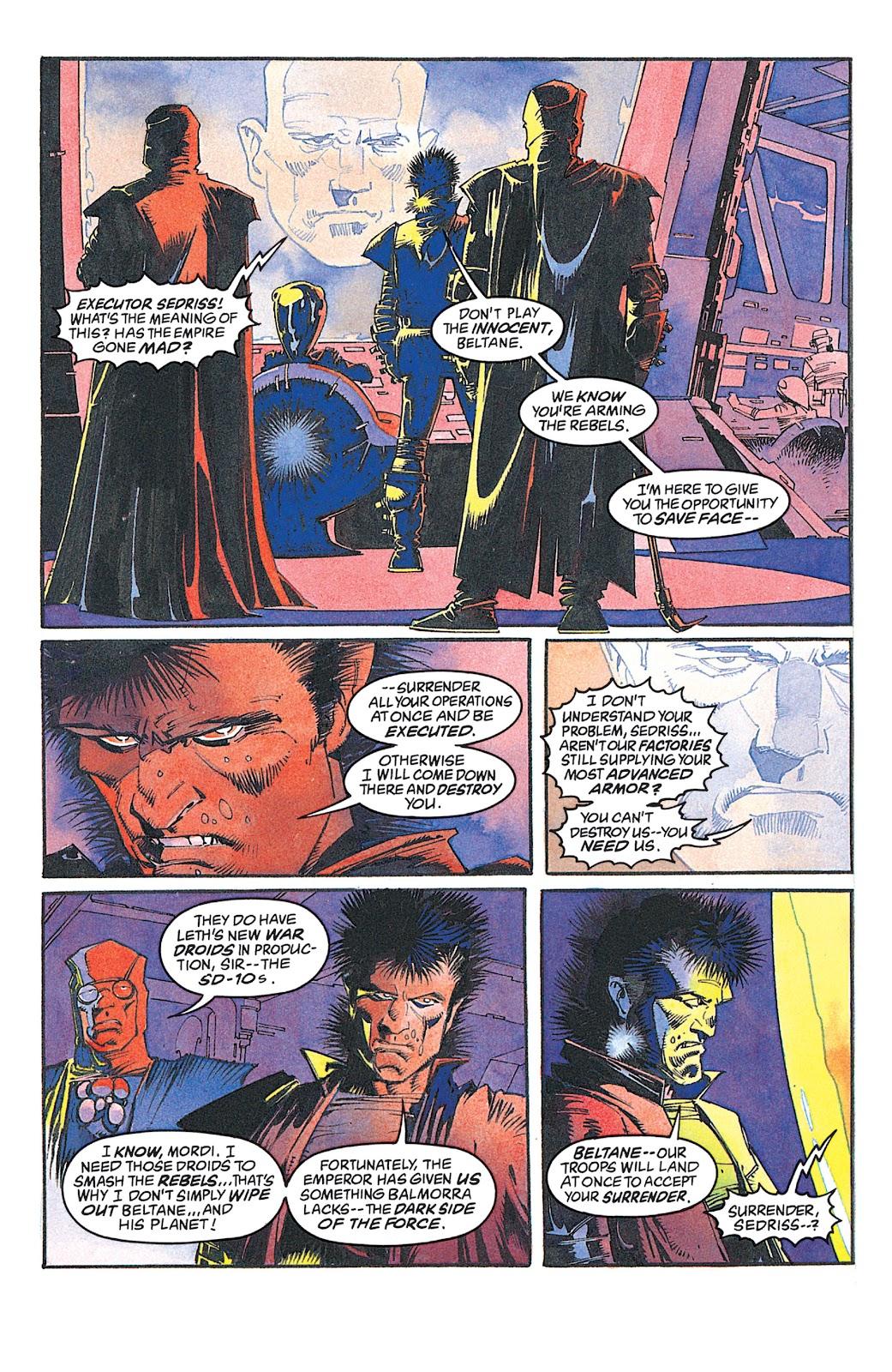 Read online Star Wars: Dark Empire Trilogy comic -  Issue # TPB (Part 2) - 59
