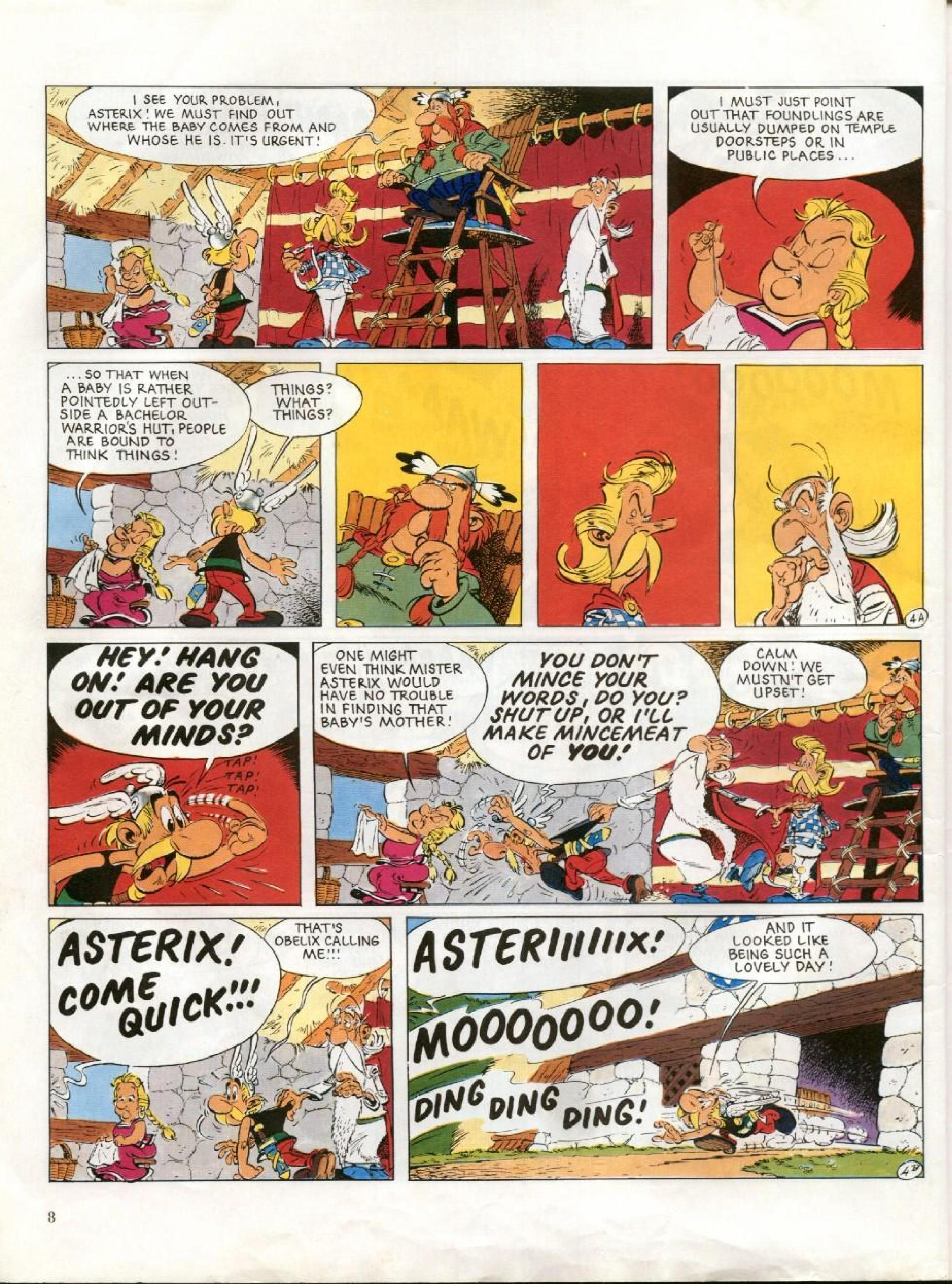 Read online Asterix comic -  Issue #27 - 5