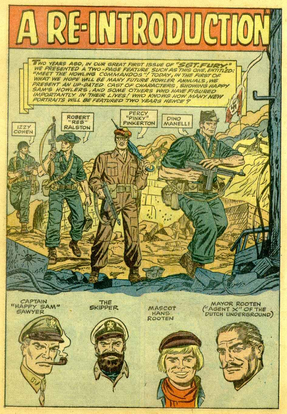 Read online Sgt. Fury comic -  Issue # _Annual 1 - 18