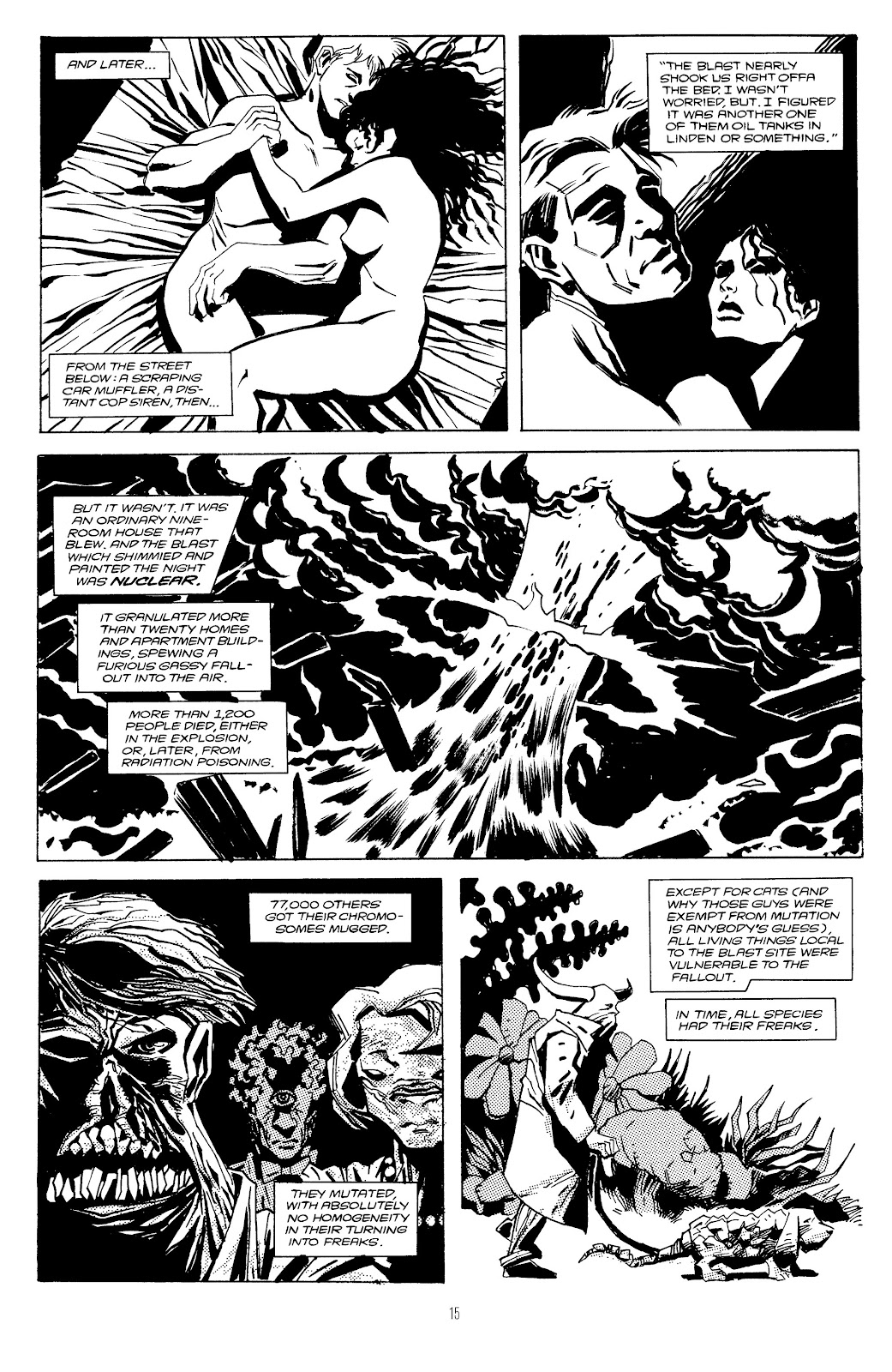 Read online Freaks' Amour comic -  Issue # TPB (Part 1) - 16
