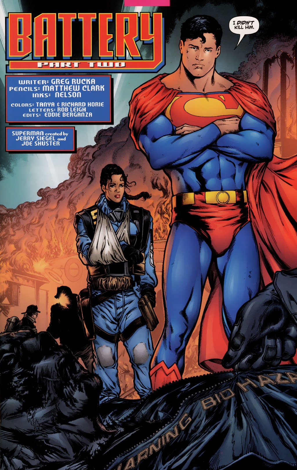 Read online Adventures of Superman (1987) comic -  Issue #628 - 2