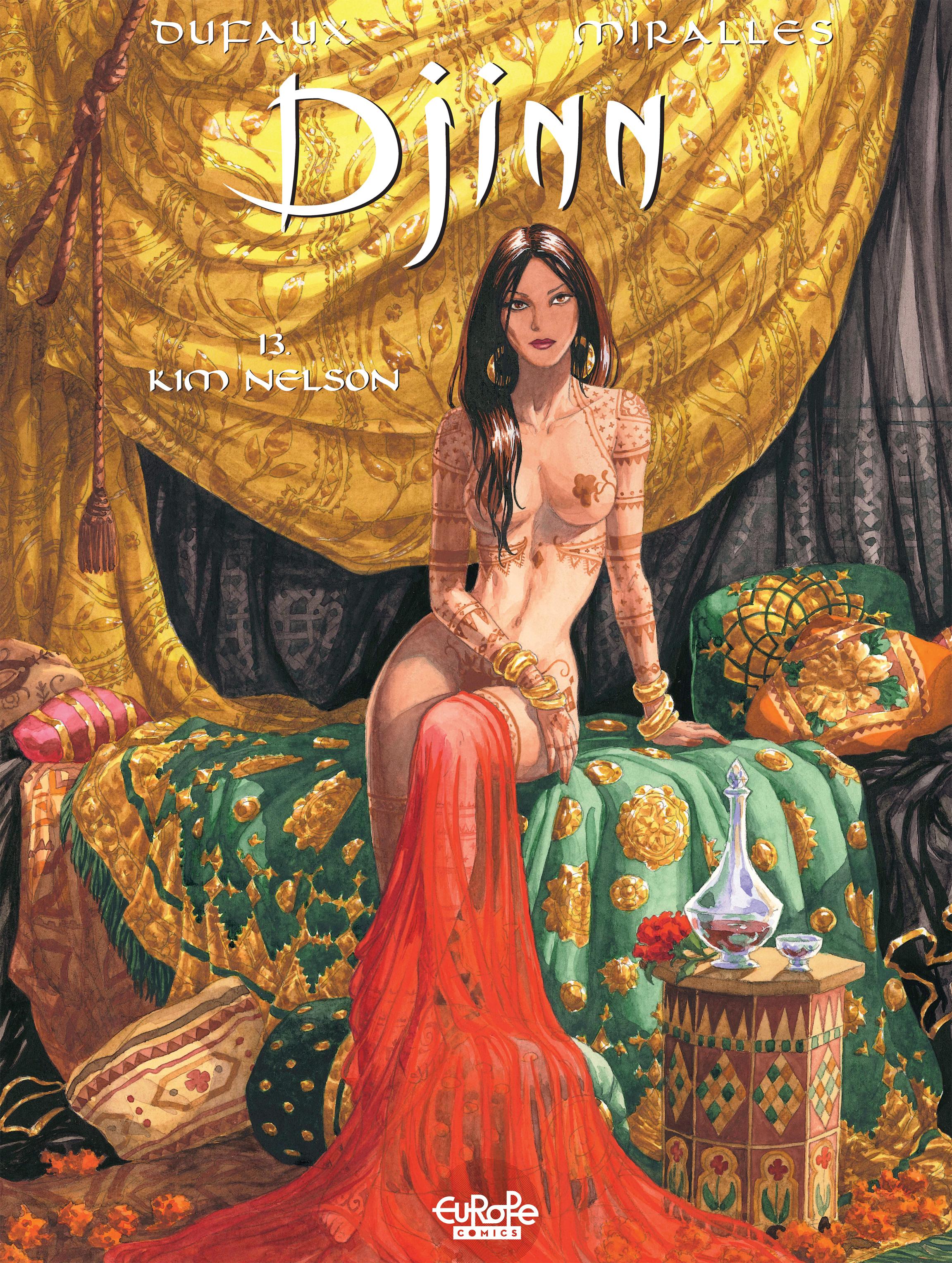 Read online Djinn comic -  Issue #13 - 1