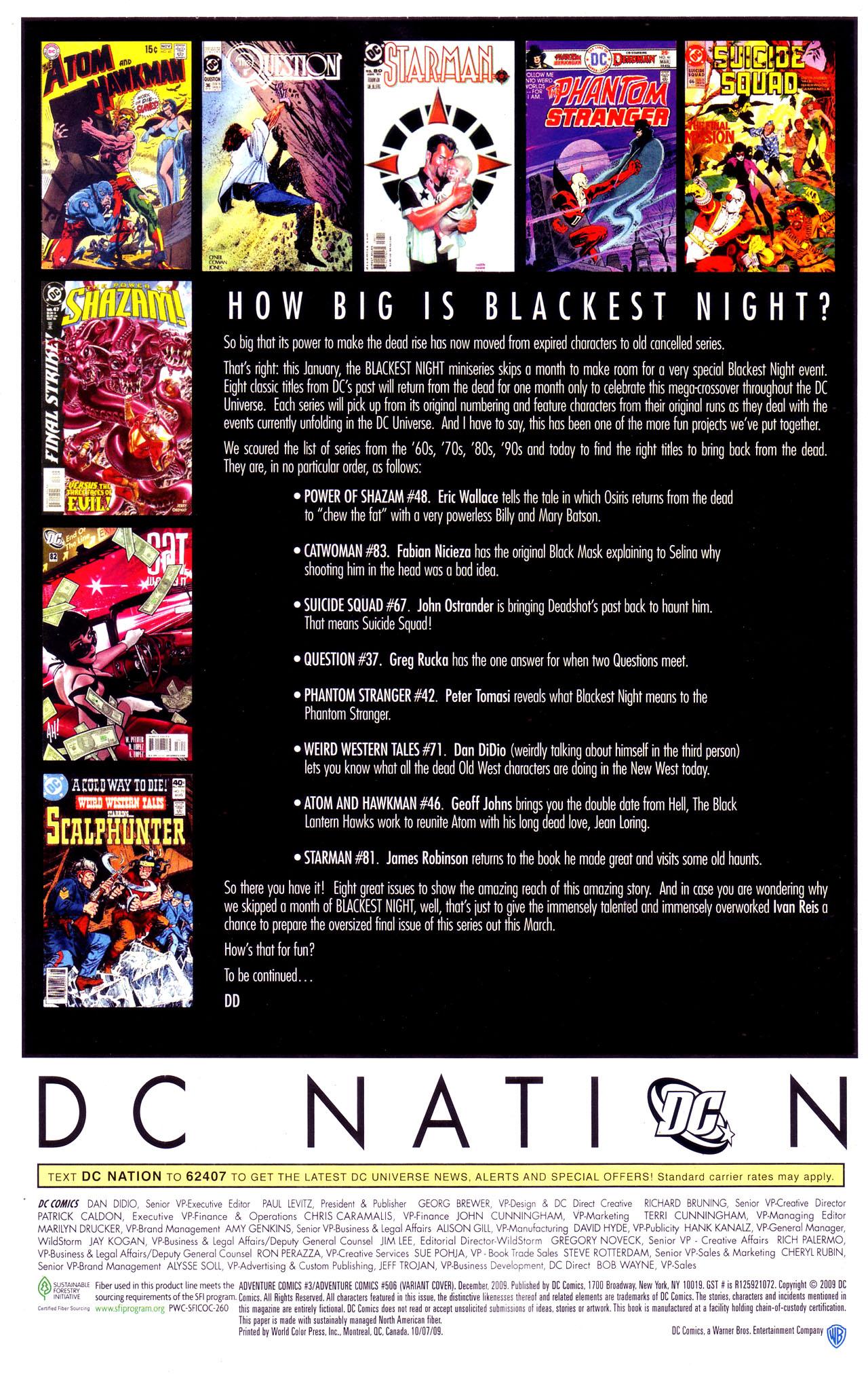 Read online Adventure Comics (2009) comic -  Issue #3 - 30