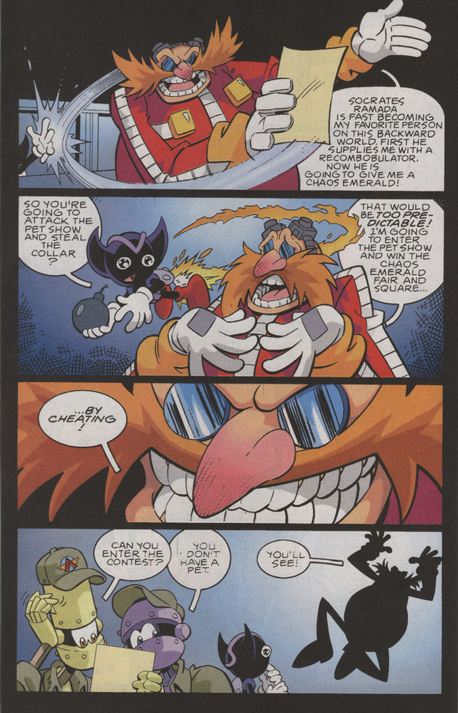Read online Sonic X comic -  Issue #36 - 16