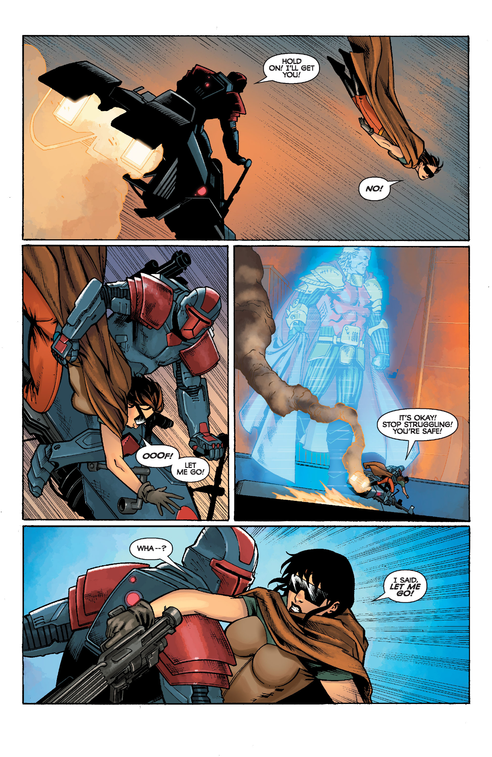 Read online Star Wars: Knight Errant - Escape comic -  Issue #1 - 5
