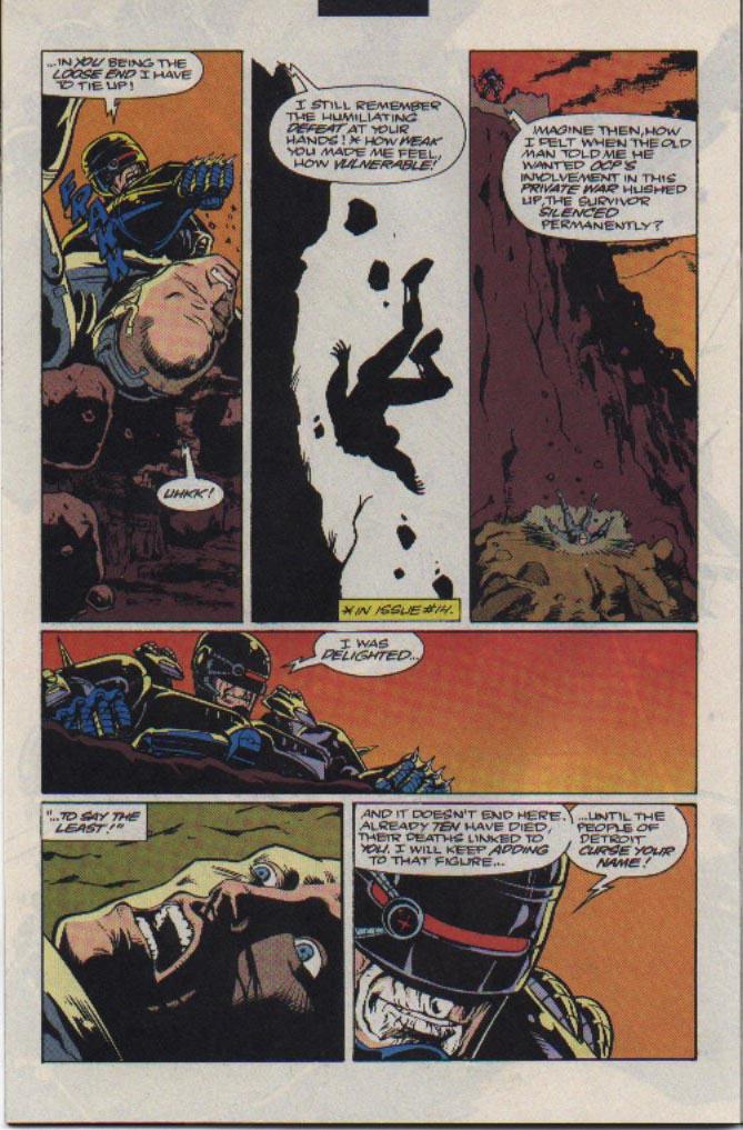 Read online Robocop (1990) comic -  Issue #23 - 18
