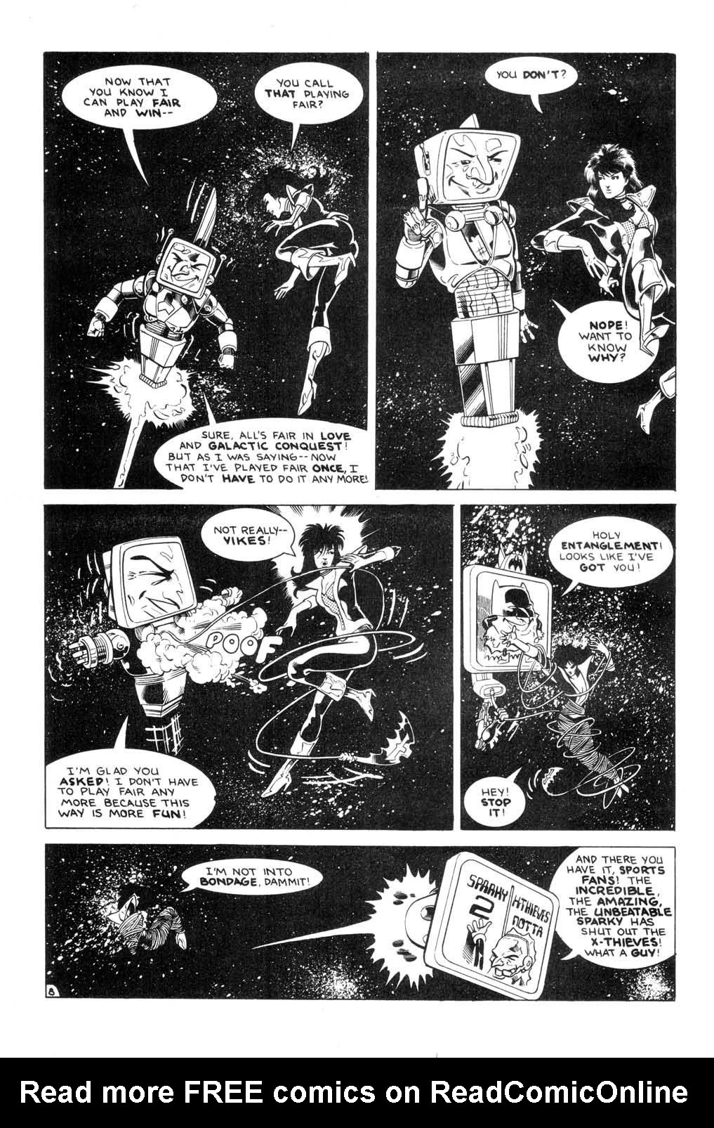 Aristocratic Xtraterrestrial Time-Traveling Thieves issue 7 - Page 10