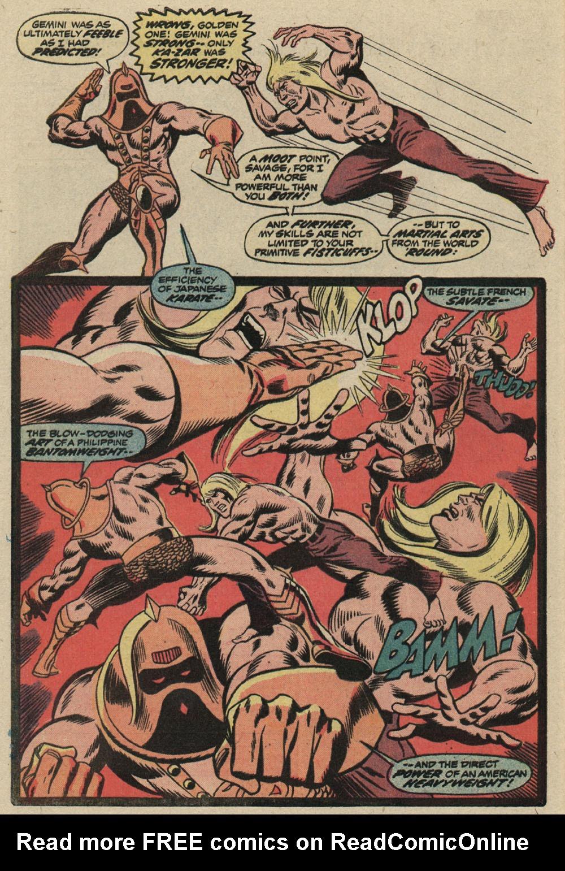 Read online Astonishing Tales (1970) comic -  Issue #19 - 18