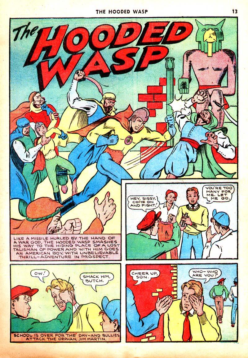 Read online Shadow Comics comic -  Issue #7 - 14
