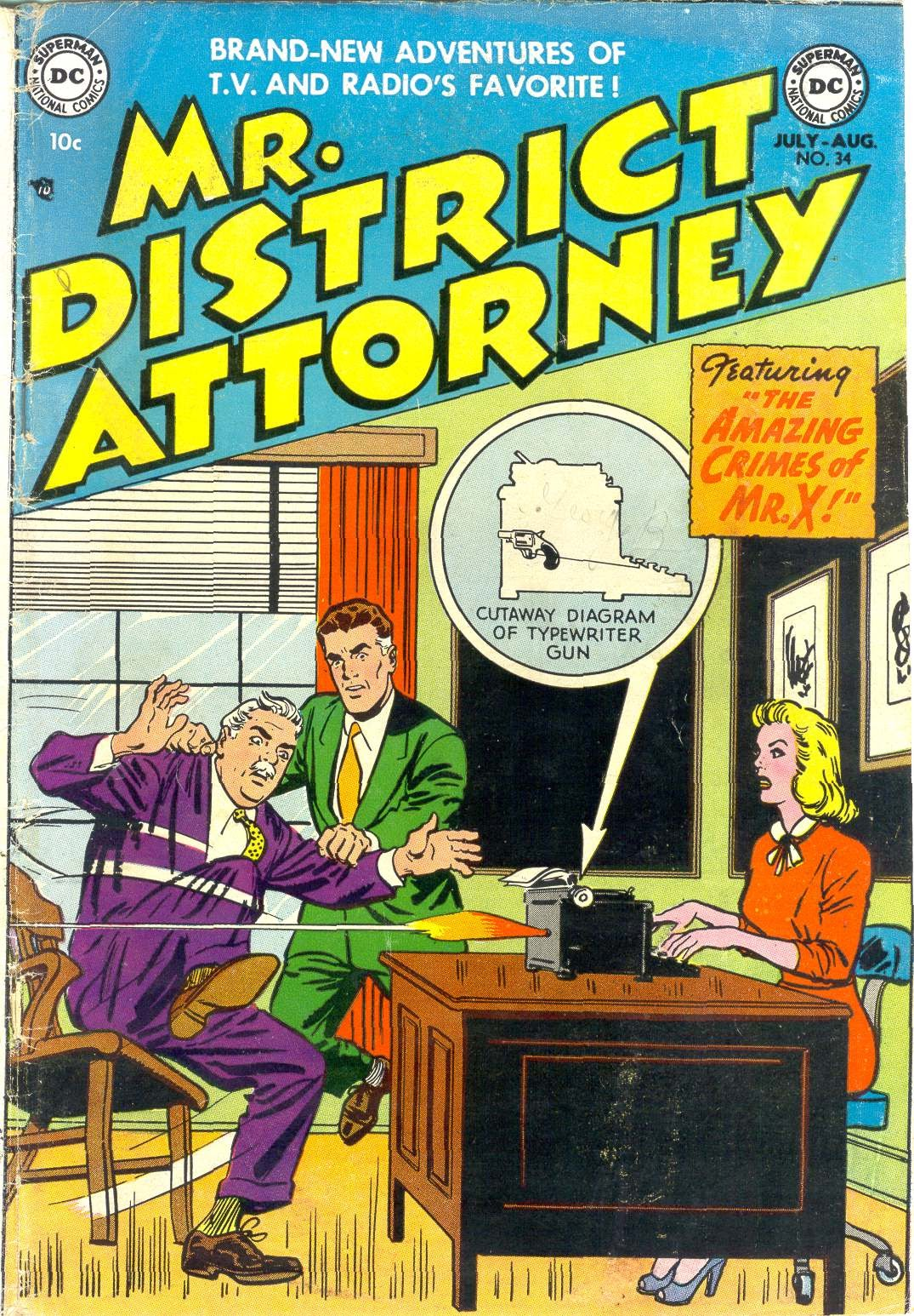 Mr. District Attorney issue 34 - Page 1