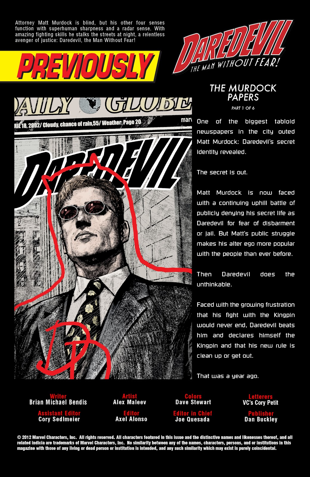 Read online Daredevil (1998) comic -  Issue # _Ultimate_Collection TPB 3 (Part 3) - 30