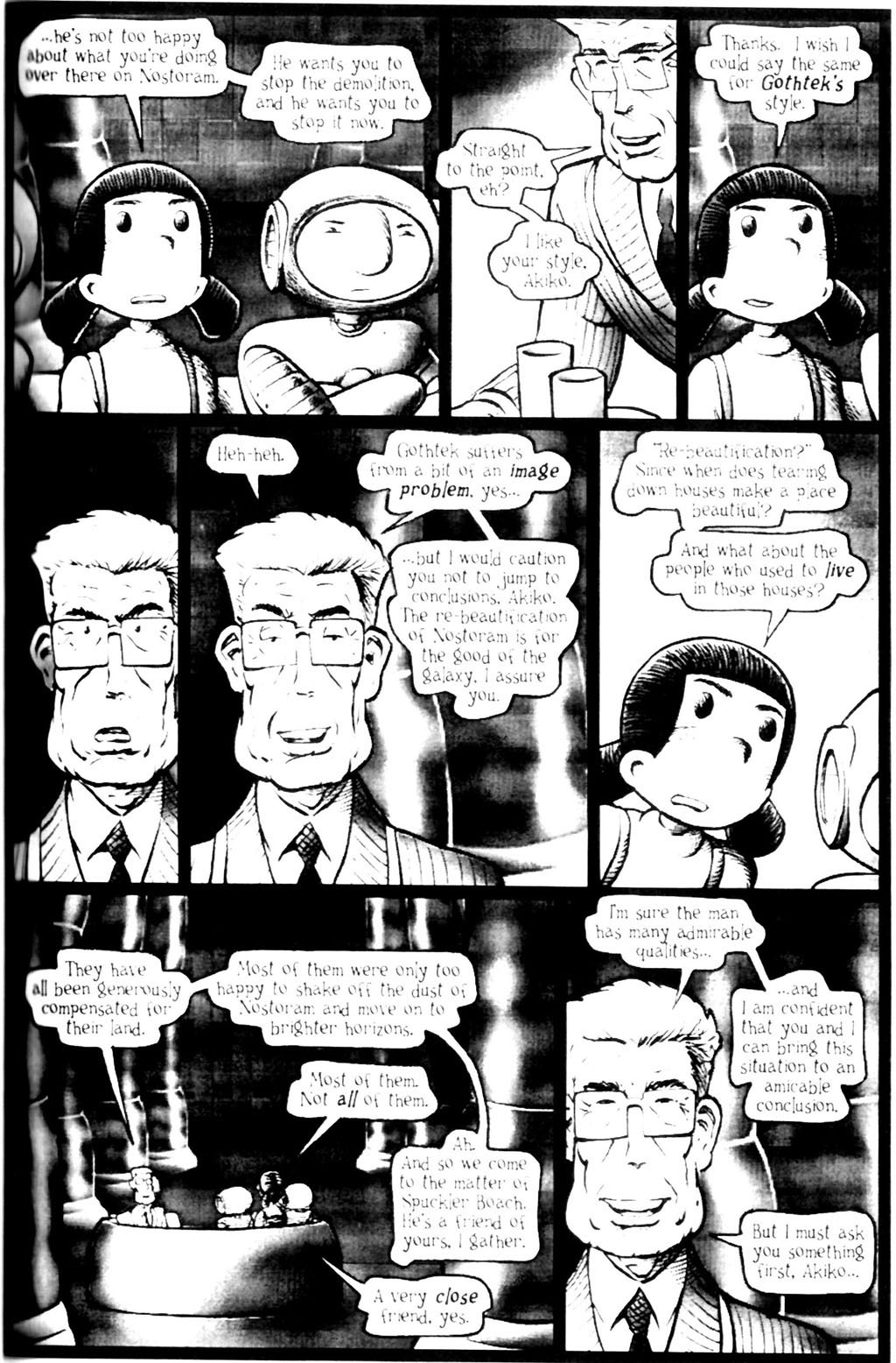 Read online Akiko comic -  Issue #Akiko _TPB 7 - 72
