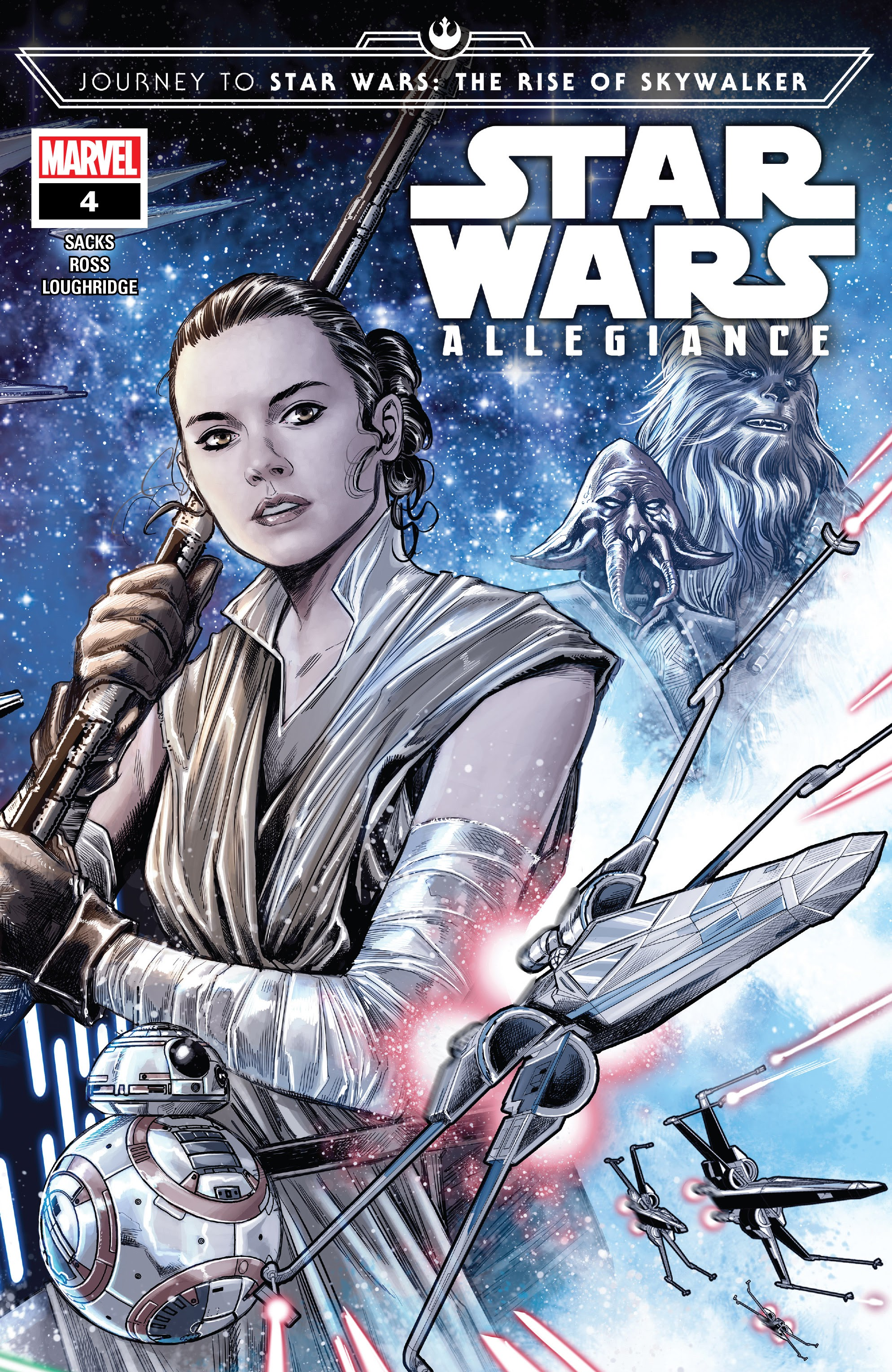 Journey to Star Wars: The Rise Of Skywalker - Allegiance issue 4 - Page 1