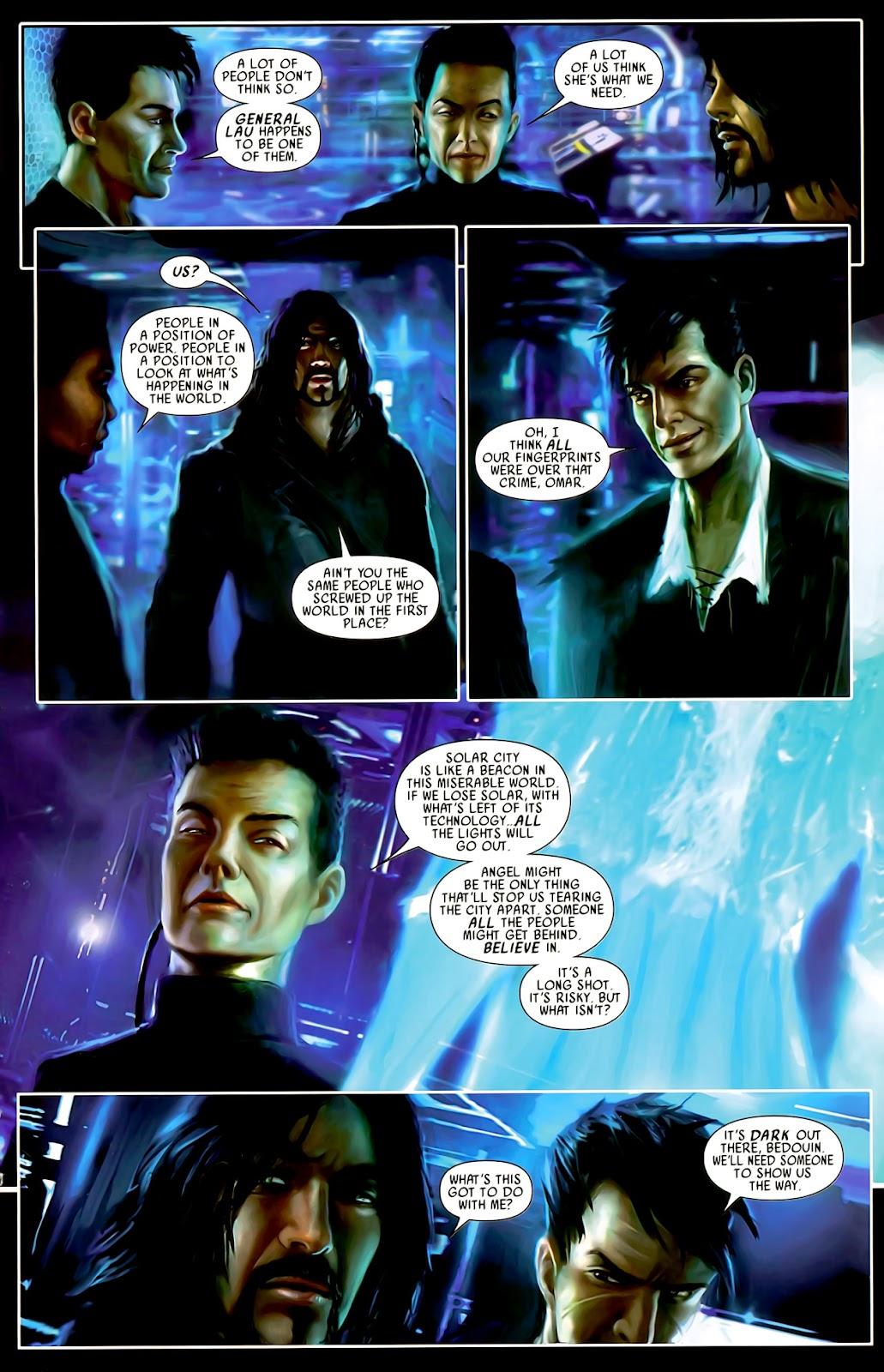 Read online After Dark comic -  Issue #0 - 17