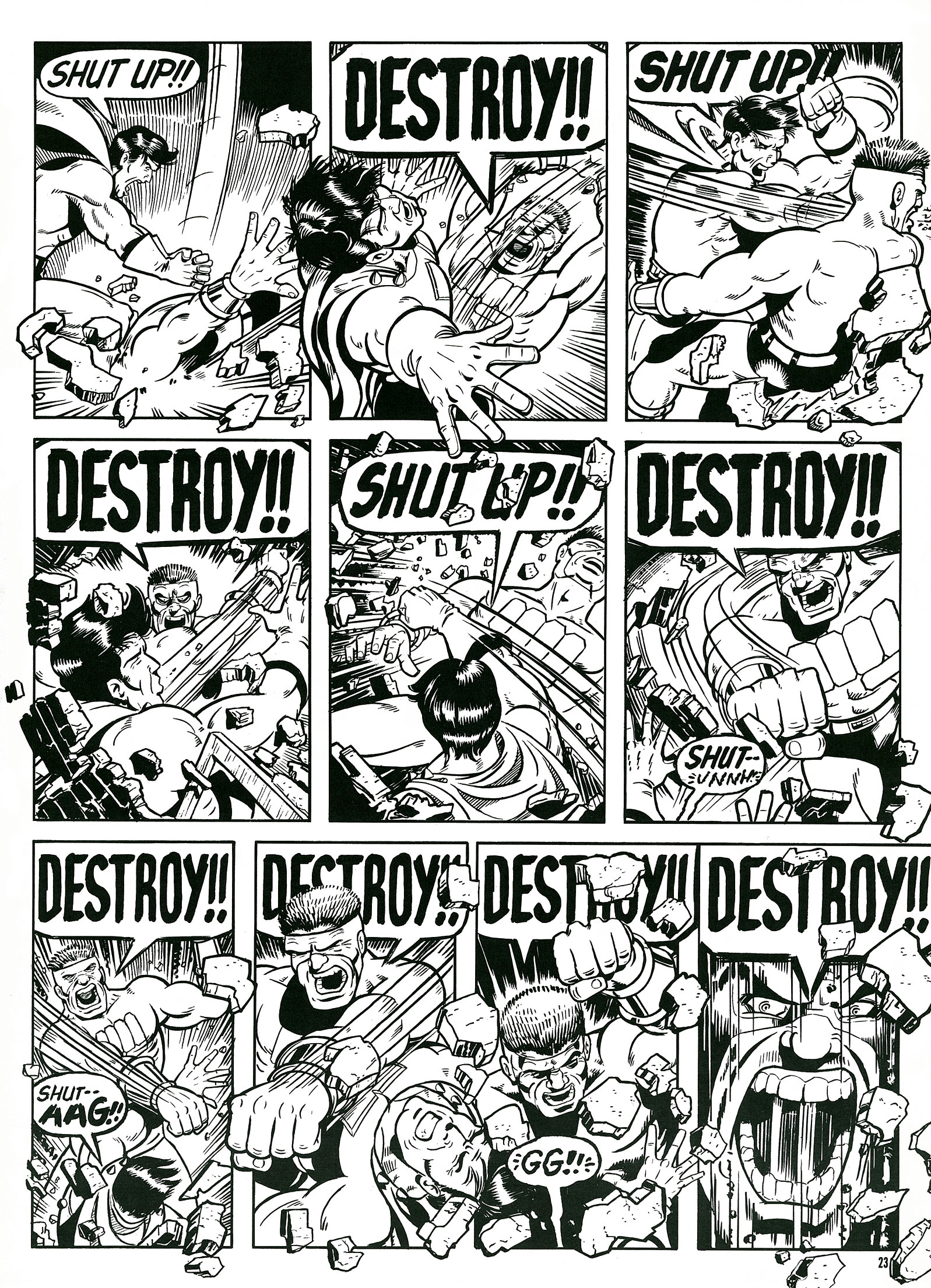 Read online Destroy!! comic -  Issue # Full - 25