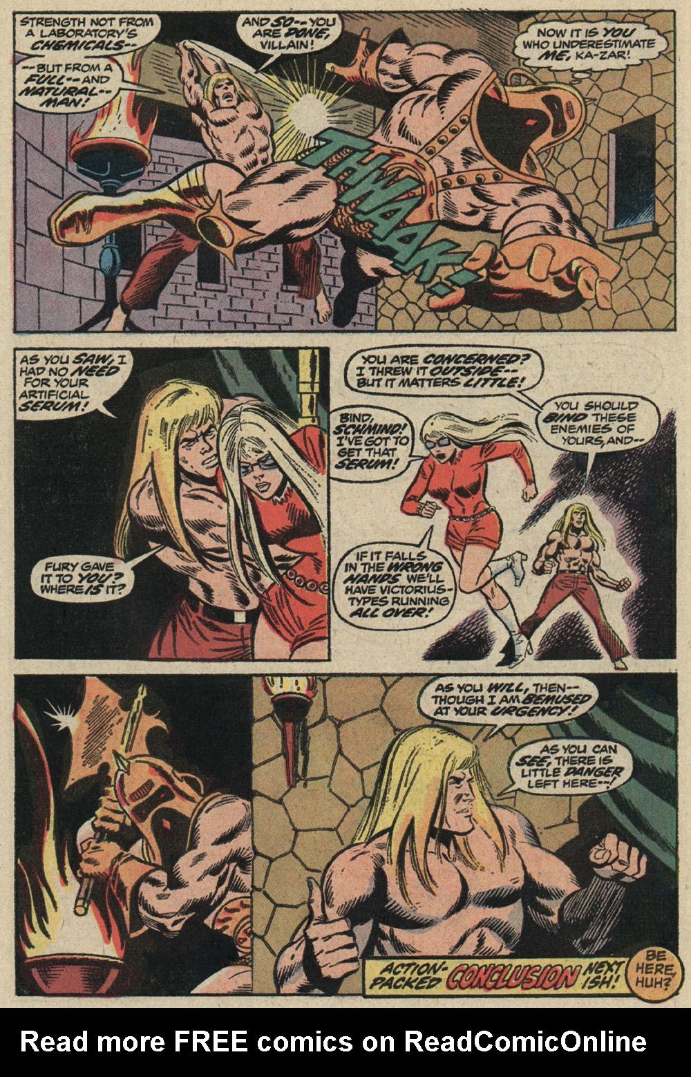 Read online Astonishing Tales (1970) comic -  Issue #19 - 20