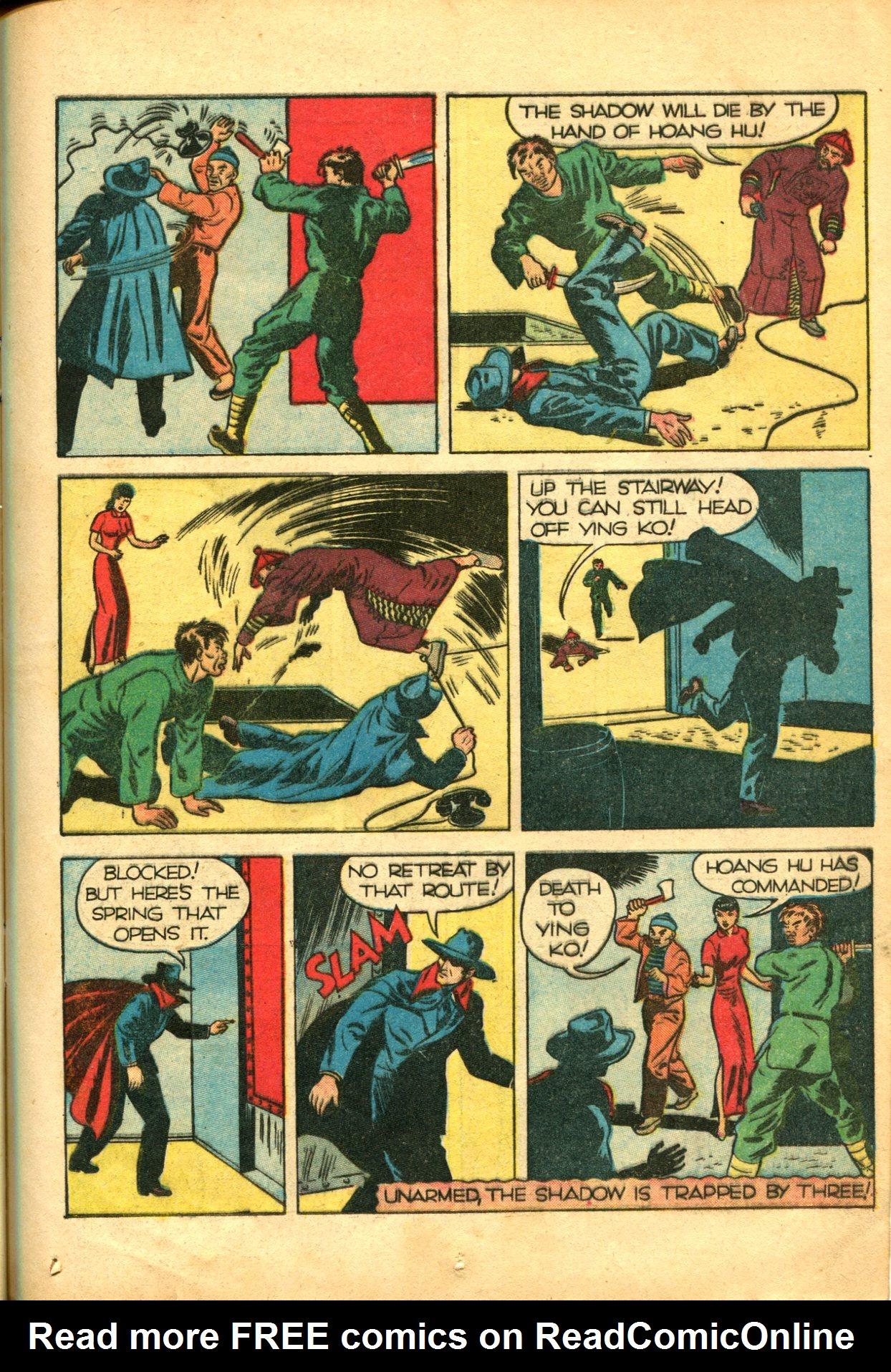 Read online Shadow Comics comic -  Issue #10 - 23