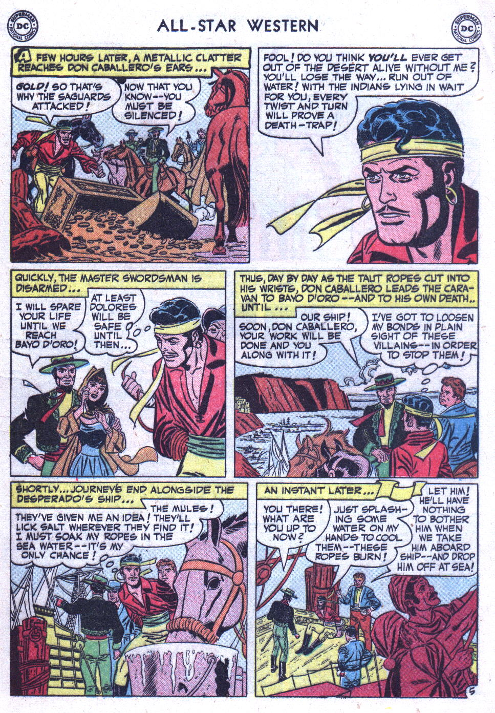 Read online All-Star Western (1951) comic -  Issue #59 - 19